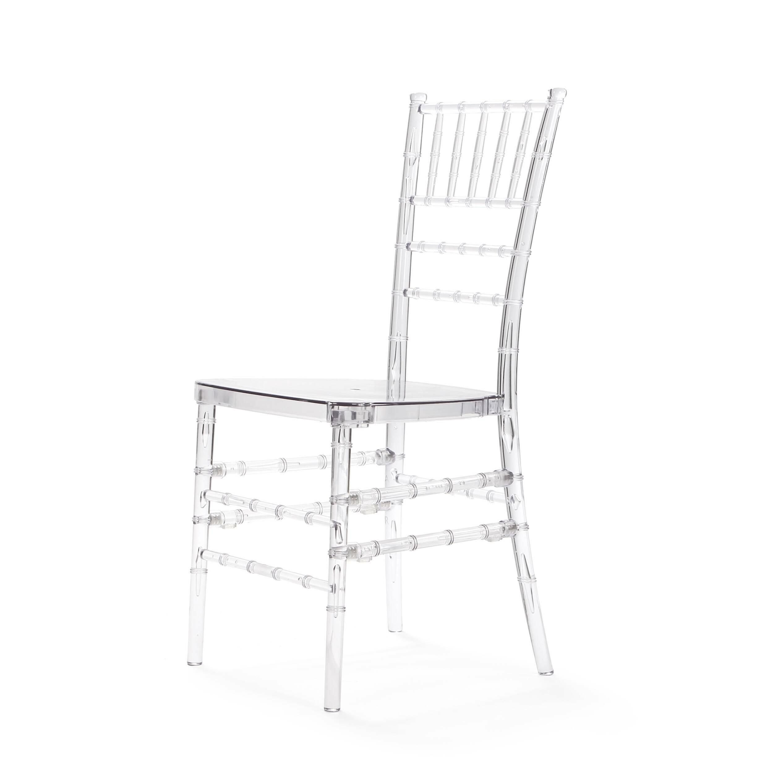 Стул Chiavari IceИнтерьерные<br>Дизайнерский высокий однотонный стул Chiavari Ice (Chiavari Ice) из поликарбоната без подлокотников от Cosmo (Космо).<br><br>     Созданный еще в 2003 году дизайн стула Chiavary превратился практически в самостоятельный бренд. Эти стулья — завсегдатаи всех крупных праздничных чествований на северном континенте Америки. Когда у американцев речь заходит о Chiavari, никто не задается вопросом: «А что это?» Любому известны эти элегантные дизайнерские изделия с их запоминающимся дизайном. Однако они н...<br><br>stock: 17<br>Высота: 92<br>Высота сиденья: 45<br>Ширина: 47<br>Глубина: 42<br>Материал каркаса: Поликарбонат<br>Тип материала каркаса: Пластик<br>Цвет каркаса: Прозрачный