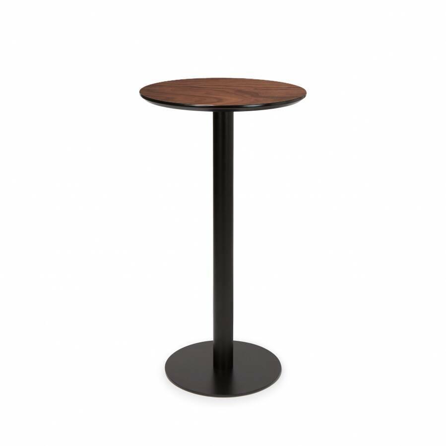 Барный стол CalgaryБарные<br>Барный стол Calgary — современный дизайн, имеющий все шансы стать классикой XXI века. Стол представляет собой прочный и долговечный стальной каркас и надежную столешницу из МДФ. <br><br> Минималистичный Calgary подходит для декорирования не только домашних, но и коммерческий интерьеров. Он популярен для использования в барах и кафе, оформленных в стиле модерн, лофт или техно. Изделие являет собой отличный пример мебели, которая со временем становится только лучше. Состаренная столешница — стил...<br><br>stock: 0<br>Высота: 110<br>Диаметр: 60<br>Цвет ножек: Черный<br>Цвет столешницы: Коричневый<br>Тип материала столешницы: МДФ<br>Тип материала ножек: Сталь