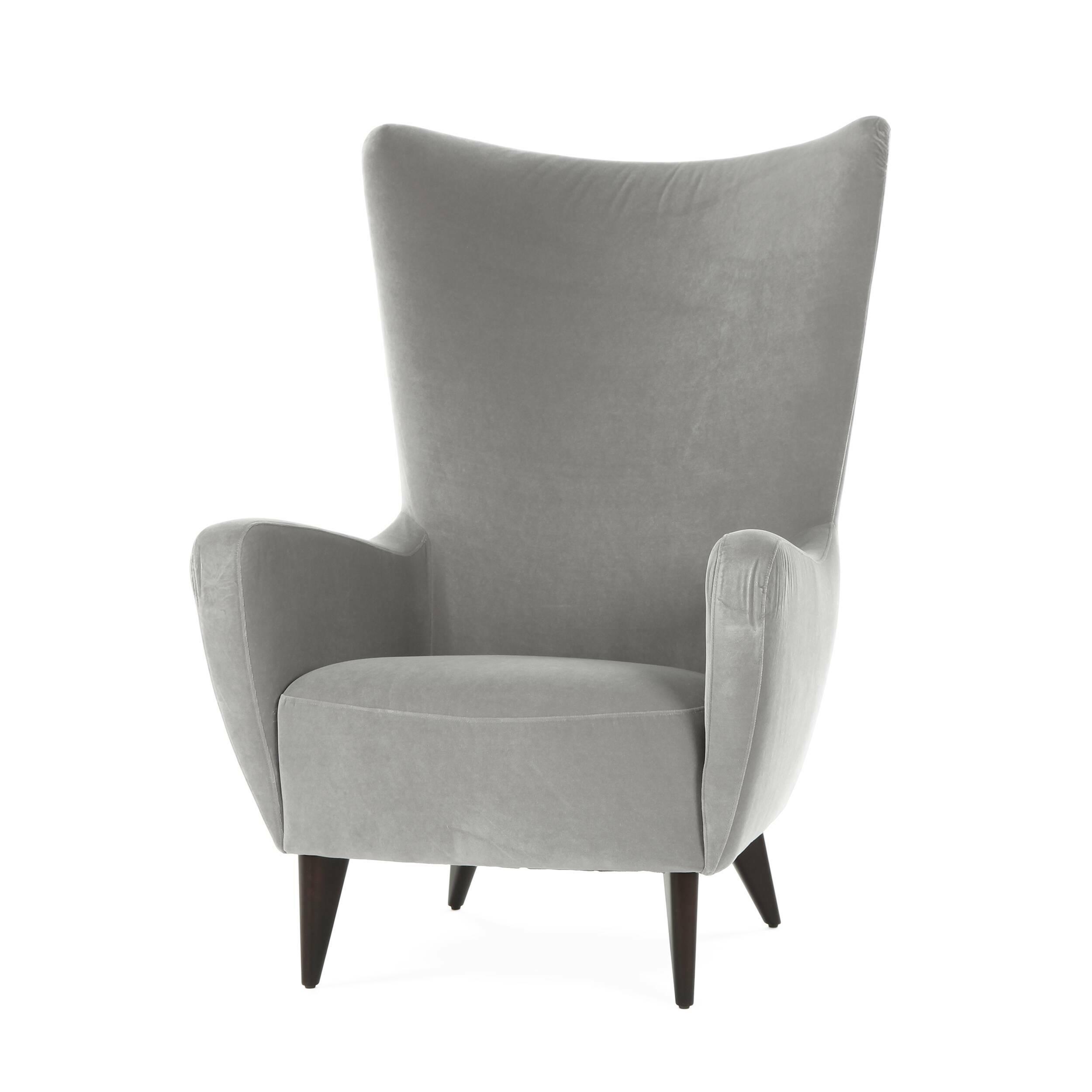 Кресло KatoИнтерьерные<br>Дизайнерское кресло Kato (Кэйто) с высокой широкой спинкой и тканевой обивкой от Sits (Ситс).<br><br><br> По-настоящему удобное сиденье и спинка анатомической формы, непревзойденный комфорт и изумительный внешний вид, созданный лучшими дизайнерами компании Sits, — все это гармонично и легко сочетает в себе представленное здесь кресло Kato. Кресло имеет высокие стильные ножки и весьма высокую спинку, благодаря которой вы сможете расслабиться и насладиться полным комфортом.<br><br><br> Ножки кресла изг...<br><br>stock: 0<br>Высота: 117<br>Высота сиденья: 44<br>Ширина: 83<br>Глубина: 94<br>Цвет ножек: Темно-коричневый<br>Материал обивки: Полиэстер<br>Степень комфортности: Стандарт комфорт<br>Коллекция ткани: Категория ткани III<br>Тип материала обивки: Ткань<br>Тип материала ножек: Дерево<br>Цвет обивки: Серый