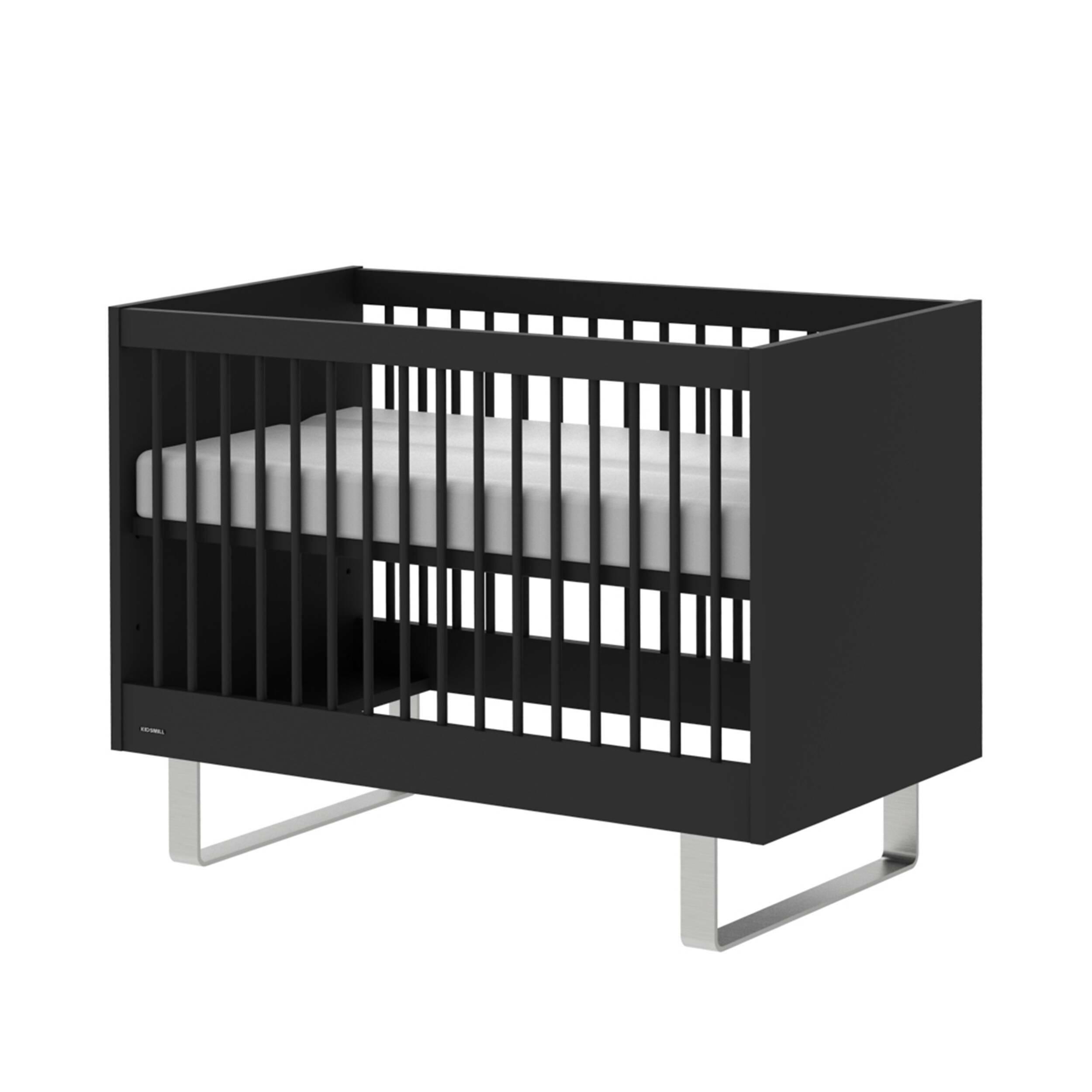 Детская кровать Intense Black, 70х140