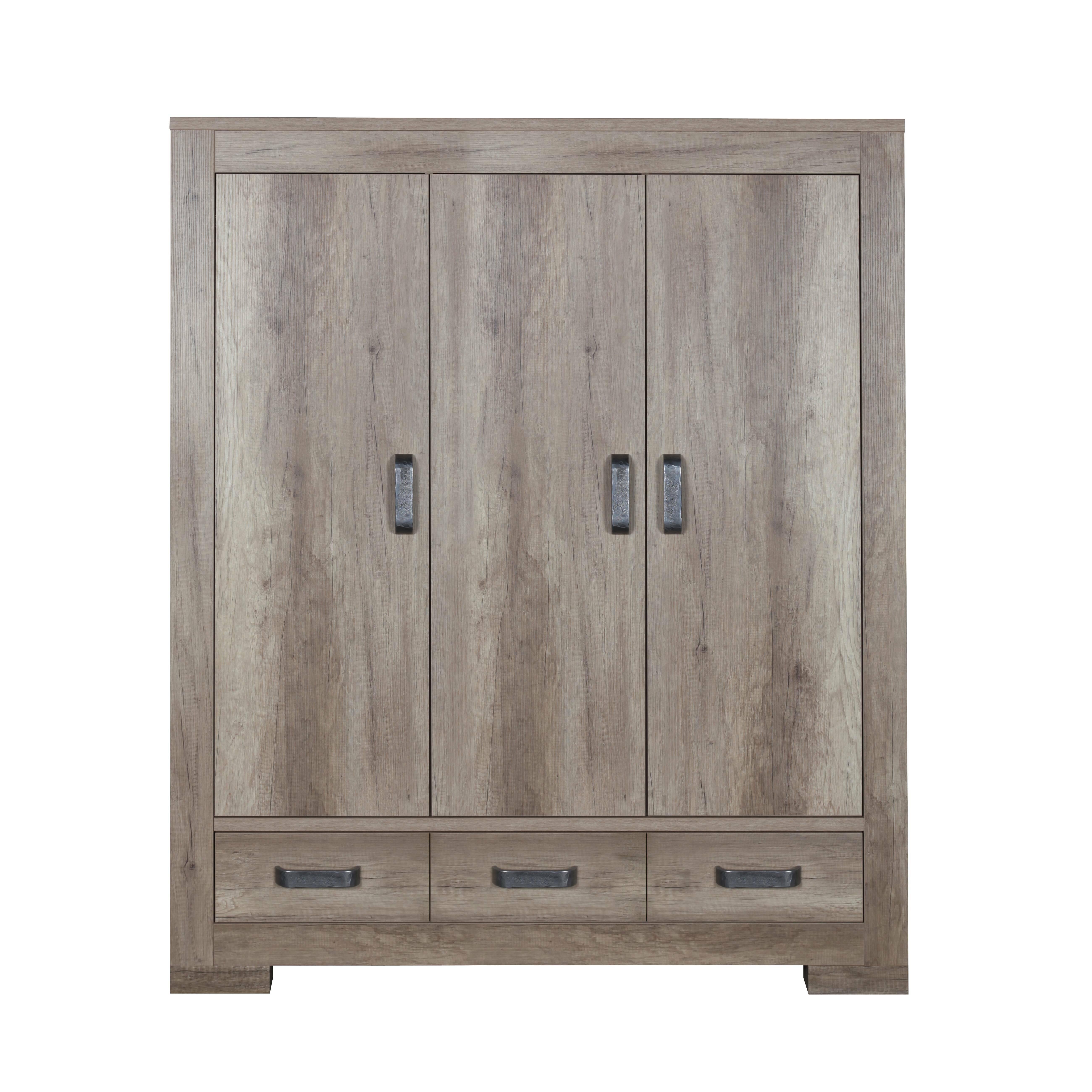 Шкаф Lodge, ширина 150Мебель для детей<br><br><br>stock: 0<br>Высота: 185<br>Ширина: 150<br>Глубина: 52<br>Материал каркаса: Меламин<br>Цвет каркаса: Серый дуб