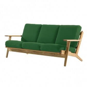 Диван Plank ширина 179Трехместные<br>Дизайнерский темно-зеленый диван Plank (Планк) с каркасом из массива дуба от Cosmo (Космо).<br> Выбор мягкой мебели в гостиную весьма ответственное дело, к которому стоит подойти со всей серьезностью. Ведь именно диван считается «лицом» гостиной комнаты, задает ее характер и атмосферу.<br><br><br> Диван Plank ширина 179 — творение известнейшего датского дизайнера Ханса Вегнера — порадует вас легкостью своего дизайна и непринужденным внешним видом. Его каркас изготовлен из американского клена. Это до...<br><br>stock: 0<br>Высота: 73,5<br>Высота сиденья: 41,5<br>Глубина: 84<br>Длина: 179<br>Материал каркаса: Массив дуба<br>Материал обивки: Шерсть, Нейлон<br>Тип материала каркаса: Дерево<br>Коллекция ткани: T Fabric<br>Тип материала обивки: Ткань<br>Цвет обивки: Темно-зеленый<br>Цвет каркаса: Дуб