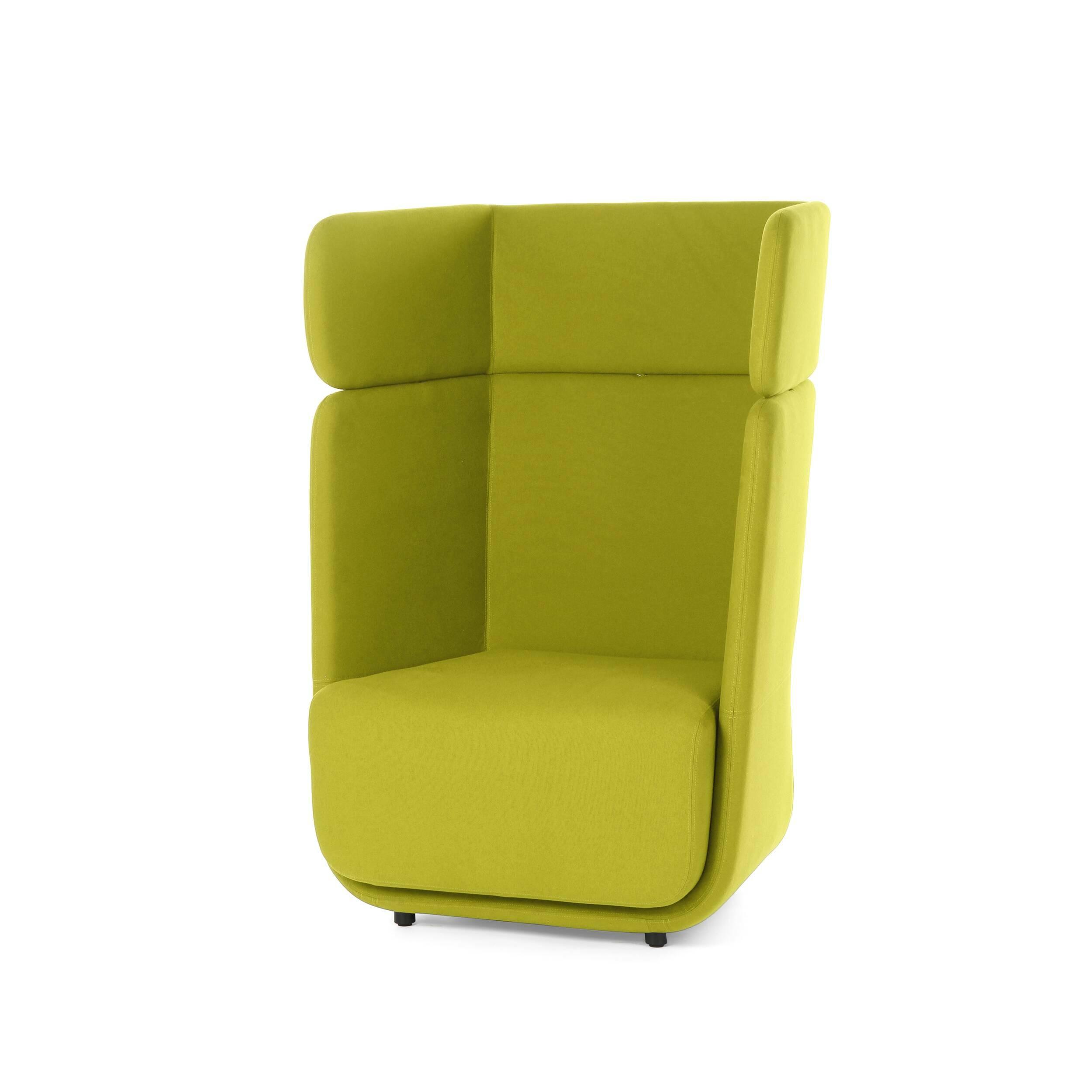 Кресло BasketИнтерьерные<br>Дизайнерское стильное яркое дизайнерское кресло Basket (Баскет) с высокой спинкой от Softline (Софтлайн).<br><br><br><br><br><br><br> Кресло Basket разработано как интегрированная модульная система, которая позволяет вам создавать свое пространство так, как нравится вам. Оно вдохновлено пляжными креслами-корзинами. Кресло спроектировал Маттиас Демакер, немецкий дизайнер, родившийся в 1970 году. Он одновременно обучался дизайну, работал в архитектурных студиях и сотрудничал с различными мастерскими. Особе...<br><br>stock: 0<br>Высота: 126<br>Высота сиденья: 42<br>Ширина: 95<br>Глубина: 74<br>Материал обивки: Шерсть, Полиамид<br>Тип материала каркаса: Сталь нержавеющя<br>Коллекция ткани: Felt<br>Тип материала обивки: Ткань<br>Цвет обивки: Желтый
