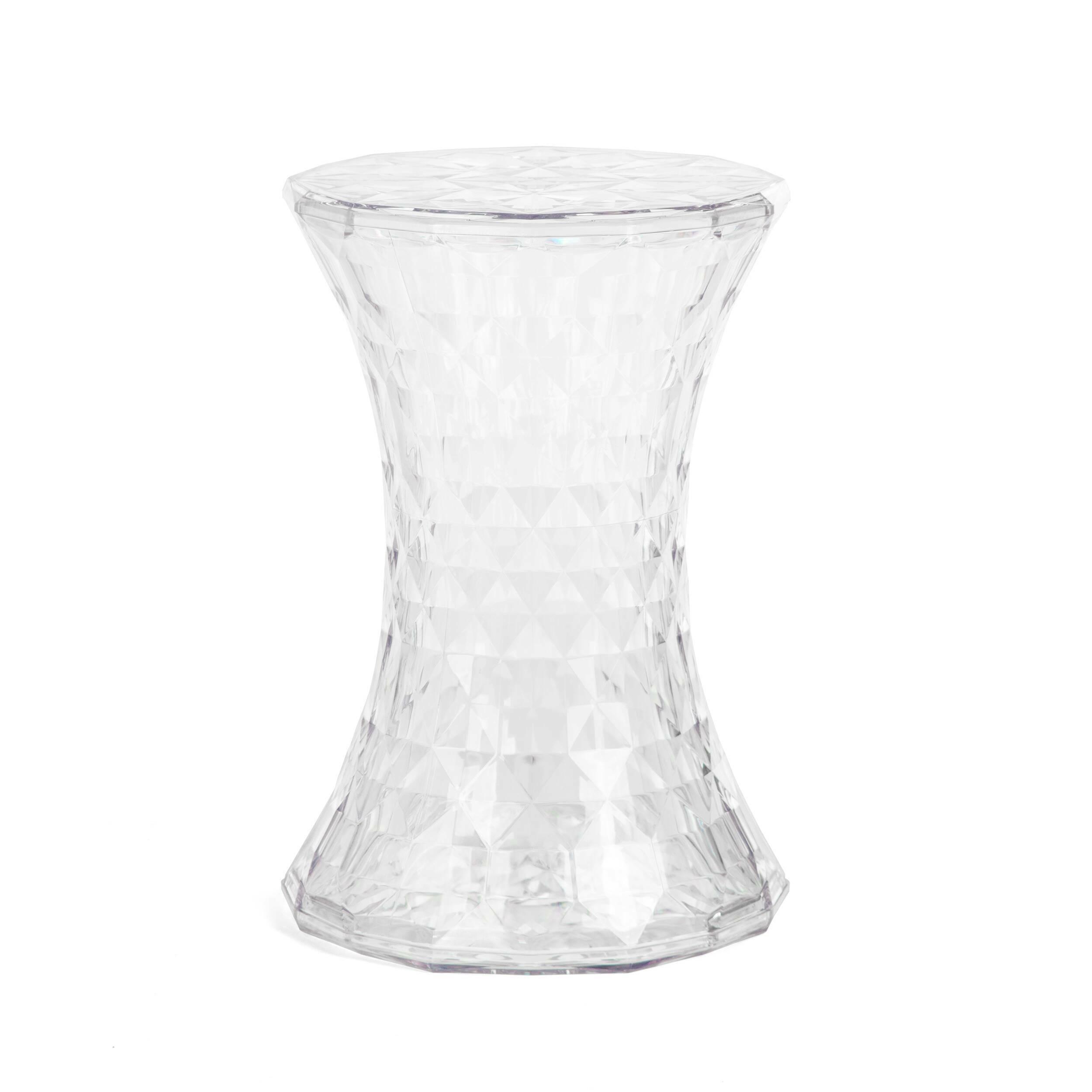 Стол кофейный 131-APCКофейные столики<br><br><br>stock: 22<br>Высота: 46<br>Диаметр: 31<br>Тип материала каркаса: Пластик<br>Цвет каркаса: Прозрачный