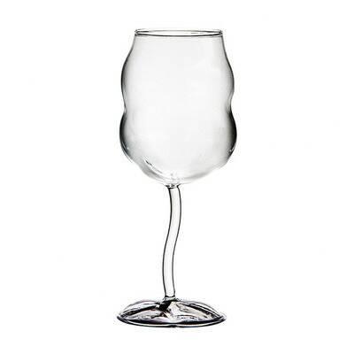 Бокал Bobbled высота 24 бокалы из муранского стекла в киеве
