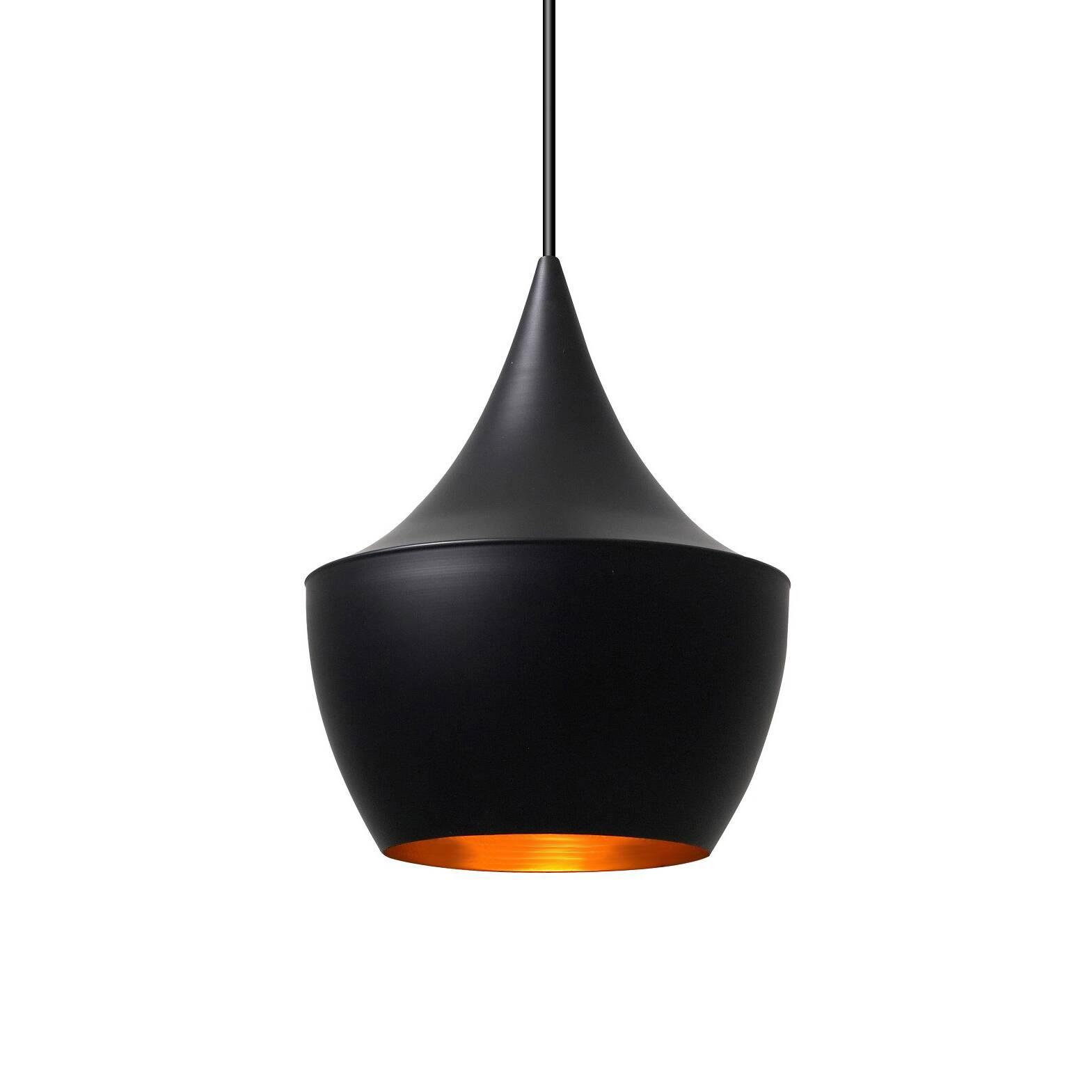 Подвесной светильник Beat Fat без чеканки диаметр 35