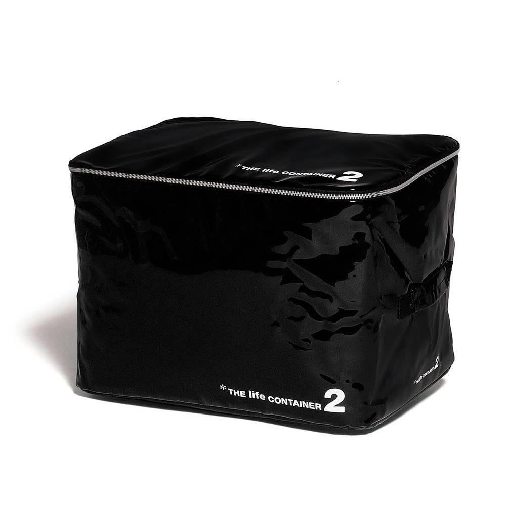Купить Контейнер для хранения The Life Container 2 черный, Seletti, Черный, Металл