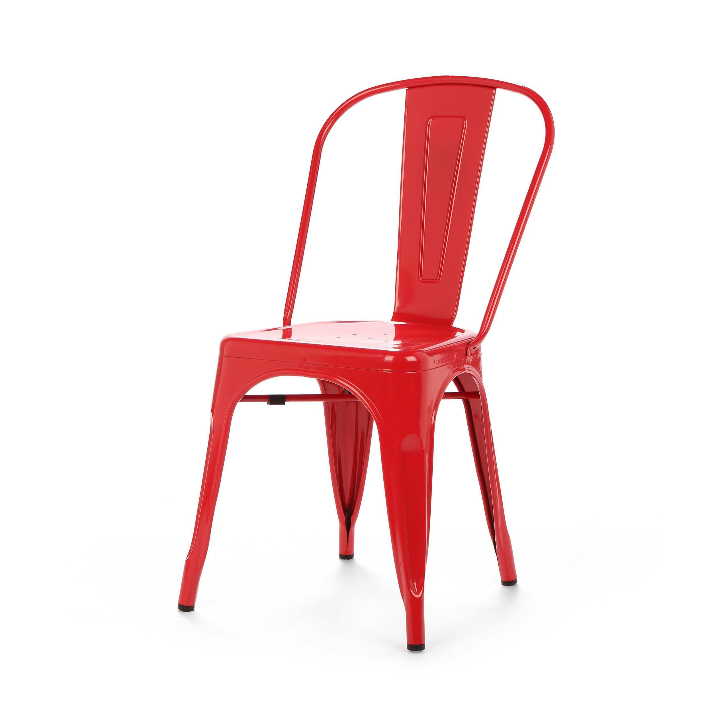 Стул Marais ColorИнтерьерные<br>Дизайнерский яркий однотонный стул Marais Color (Мэрейс Колор) из стали без подлокотников от Cosmo (Космо).<br>Яркий дизайн стула Marais Color непременно понравится вам и вашей семье. Насыщенные цвета задали положительный тон облику изделия, поэтому он невероятно актуален для декорирования гостиных, детских и кухонь в стиле лофт. Лофт — это сочетание старого (кирпичные, отштукатуренные или крашеные стены, дощатый пол) и нового (стекло, металл, ультрасовременная бытовая техника).<br><br>     Примеча...<br><br>stock: 0<br>Высота: 84,5<br>Высота сиденья: 46<br>Ширина: 53<br>Глубина: 45<br>Тип материала каркаса: Сталь<br>Цвет каркаса: Красный