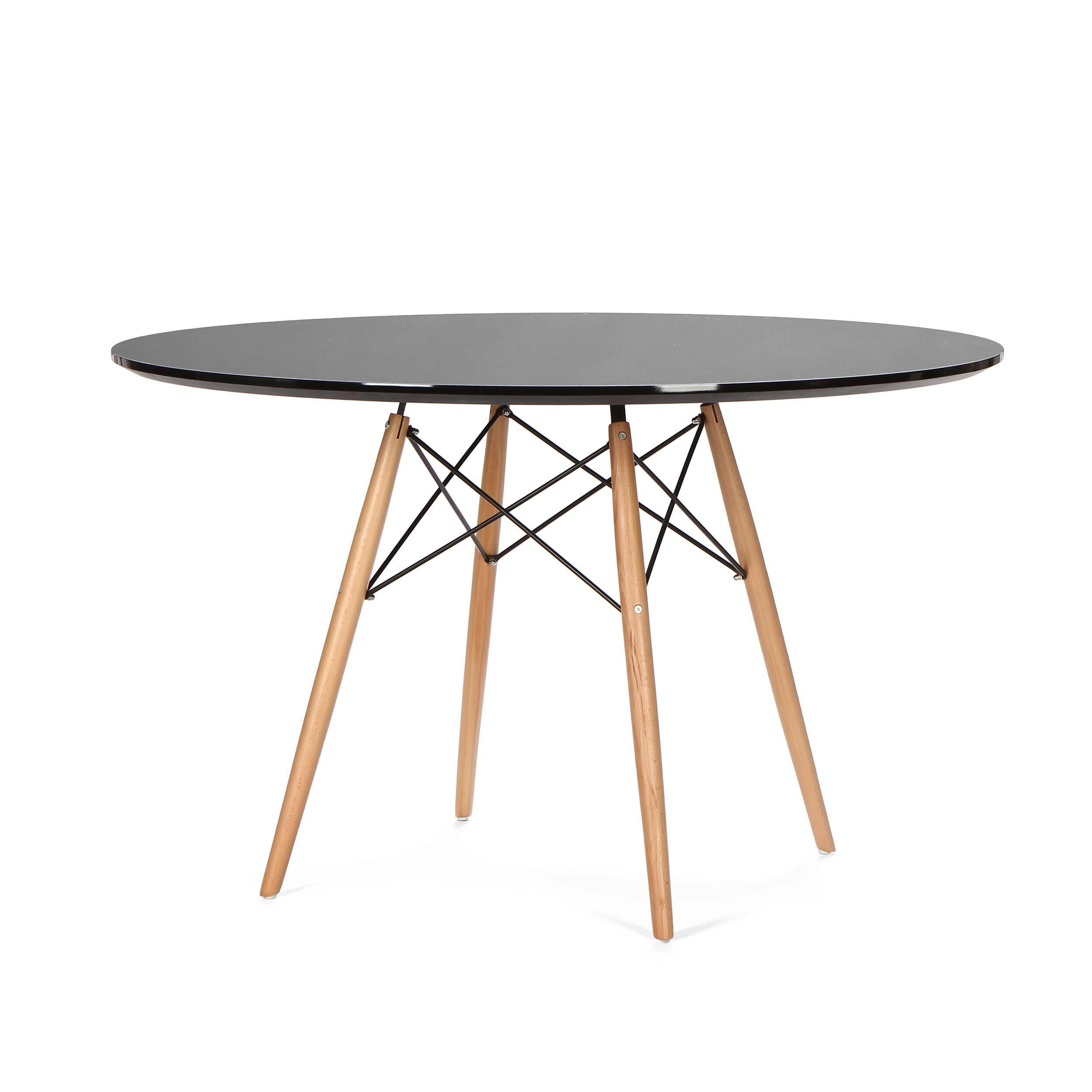 Обеденный стол Eiffel диаметр 120 обеденный стол molasses диаметр 100