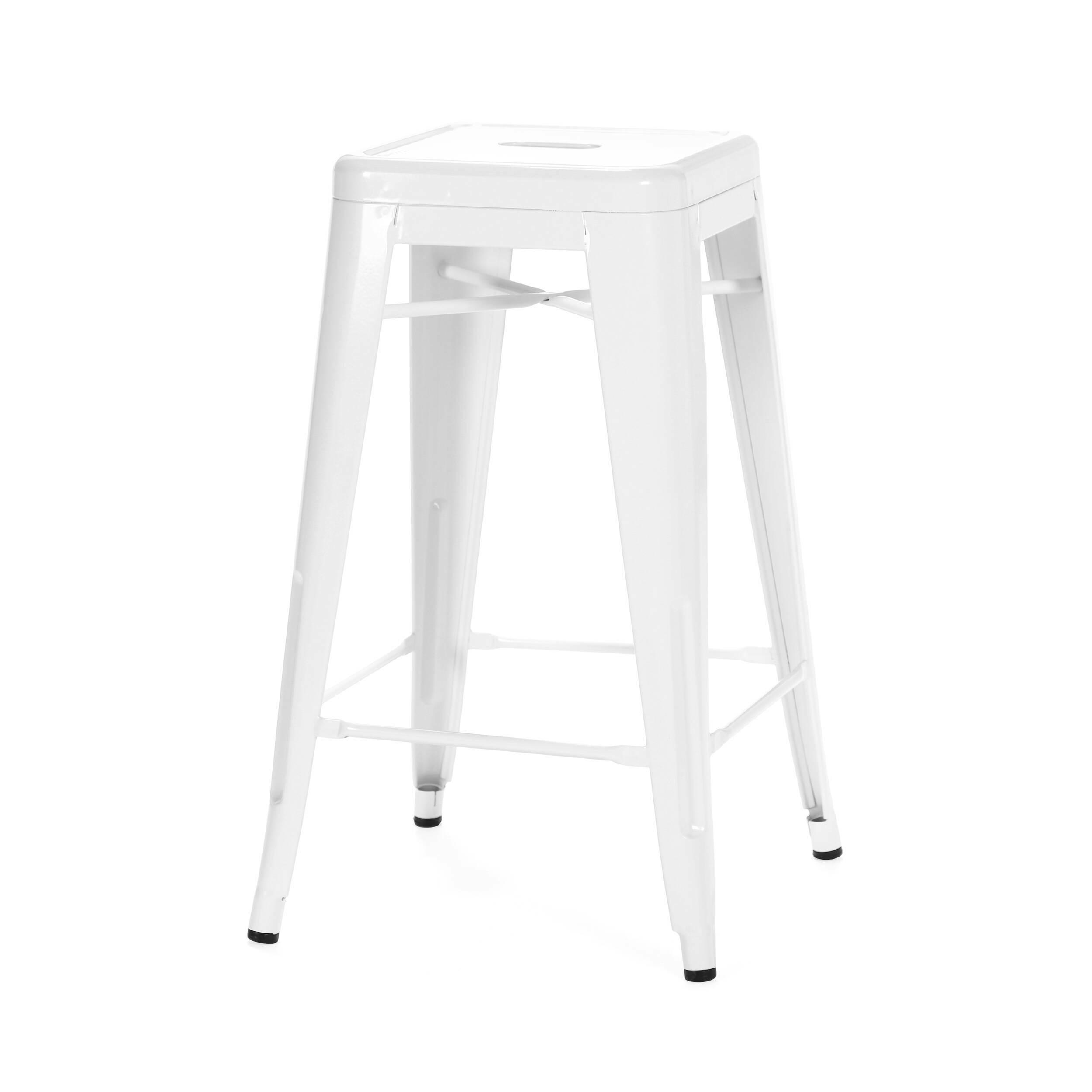 Барный стул Marais Color 2Барные<br>Дизайнерский цветной стальной барный стул Marais Color 2 (Мэрейс Калар) без спинки от Cosmo (Космо).<br> Барный стул Marais Color 2 — олицетворение винтажного стиля, его грациозные линии создают ощущение легкости и невесомости. Несмотря на хрупкий вид, этот предмет мебели невероятно прочен и долговечен. Высококачественный металл, обработанный методом гальванизации, выдерживает самые агрессивные условия окружающей среды. Не случайно модель не утратила актуальности с начала ХХ века — именно тогда...<br><br>stock: 0<br>Высота: 66<br>Ширина: 41<br>Глубина: 41<br>Тип материала каркаса: Сталь<br>Цвет каркаса: Белый