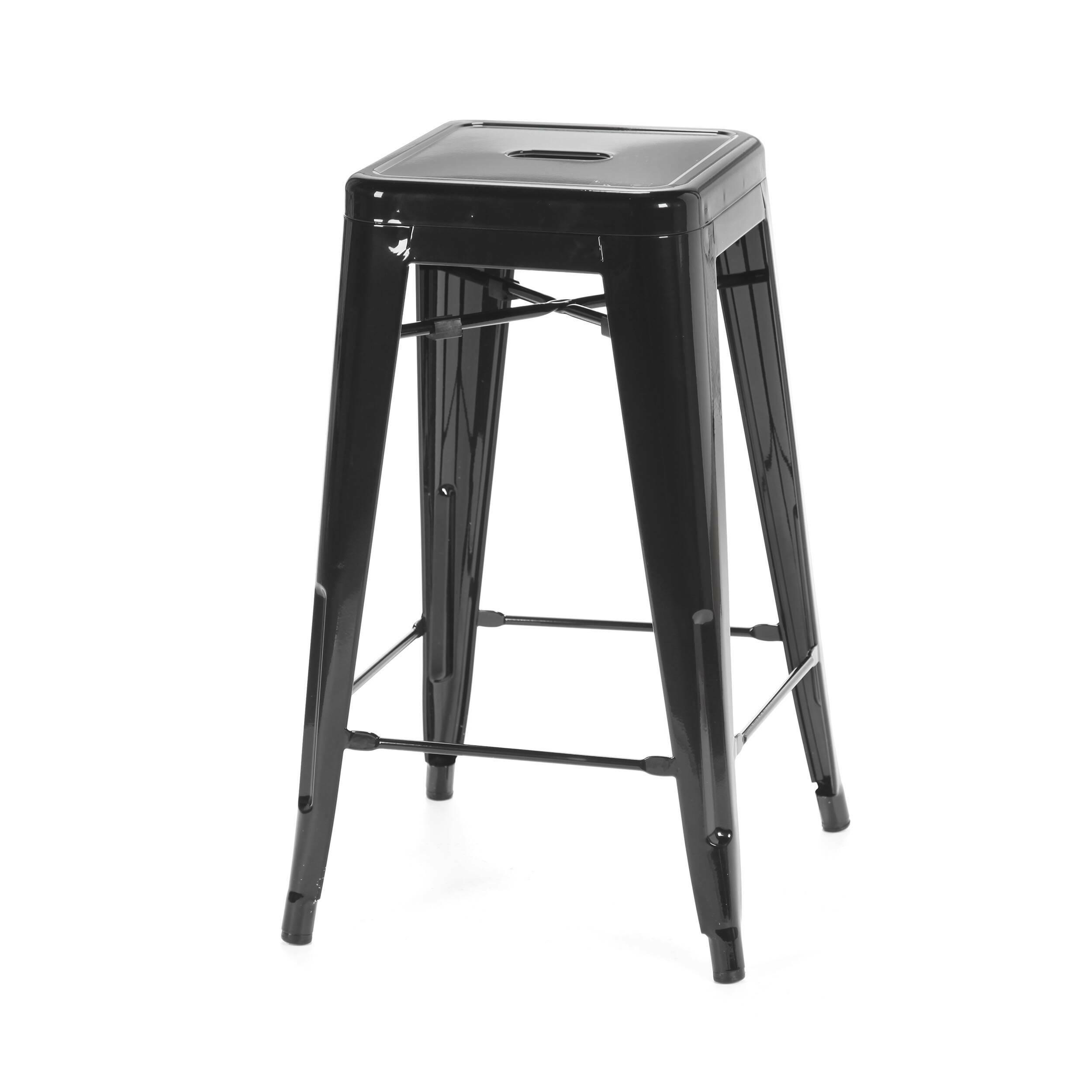 Барный стул Marais Color 2Барные<br>Дизайнерский цветной стальной барный стул Marais Color 2 (Мэрейс Калар) без спинки от Cosmo (Космо).<br> Барный стул Marais Color 2 — олицетворение винтажного стиля, его грациозные линии создают ощущение легкости и невесомости. Несмотря на хрупкий вид, этот предмет мебели невероятно прочен и долговечен. Высококачественный металл, обработанный методом гальванизации, выдерживает самые агрессивные условия окружающей среды. Не случайно модель не утратила актуальности с начала ХХ века — именно тогда...<br><br>stock: 17<br>Высота: 66<br>Ширина: 41<br>Глубина: 41<br>Тип материала каркаса: Сталь<br>Цвет каркаса: Черный