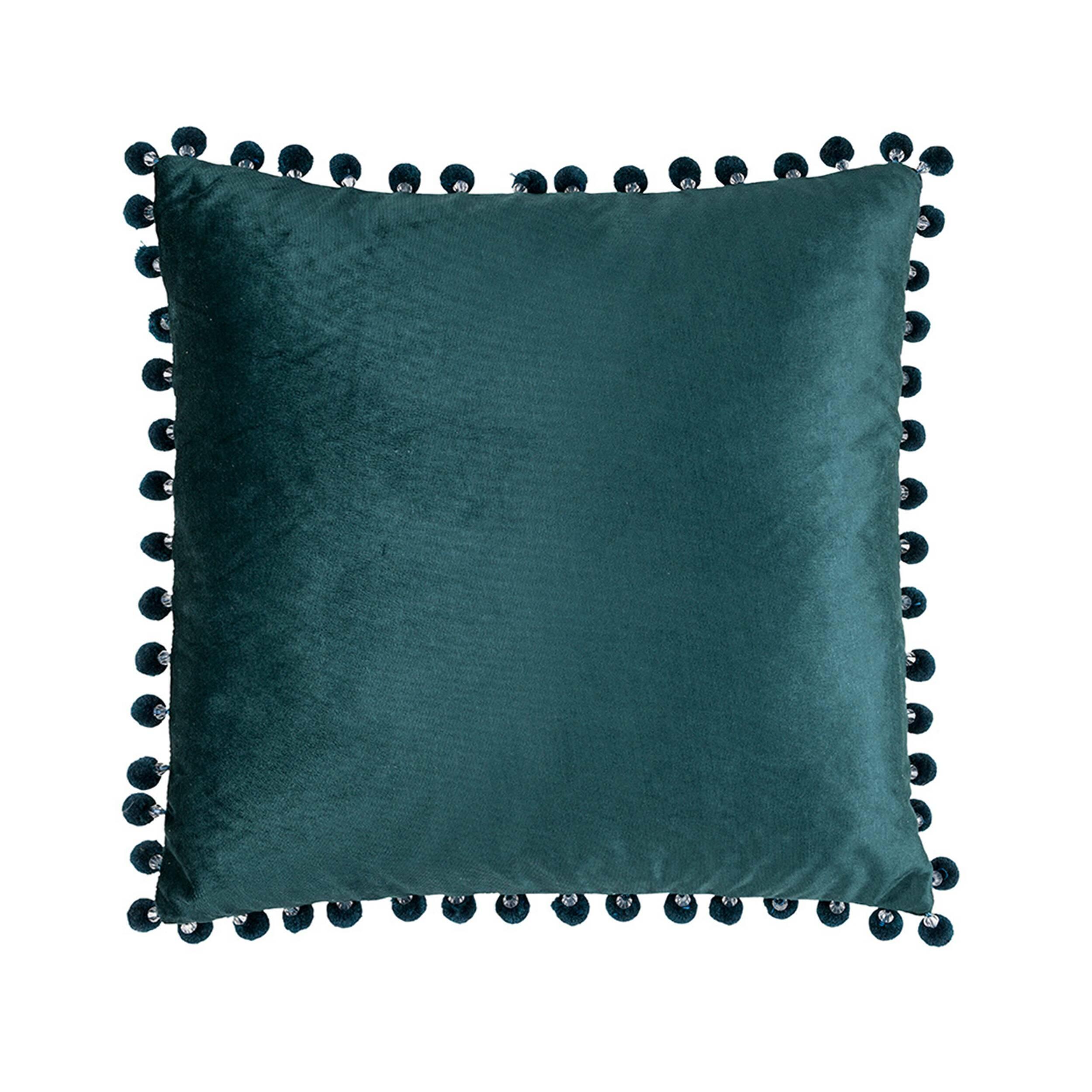 Купить Декоративная подушка JOSELYN (01025317588), Cosmo, Зеленый, полиэстер, перо