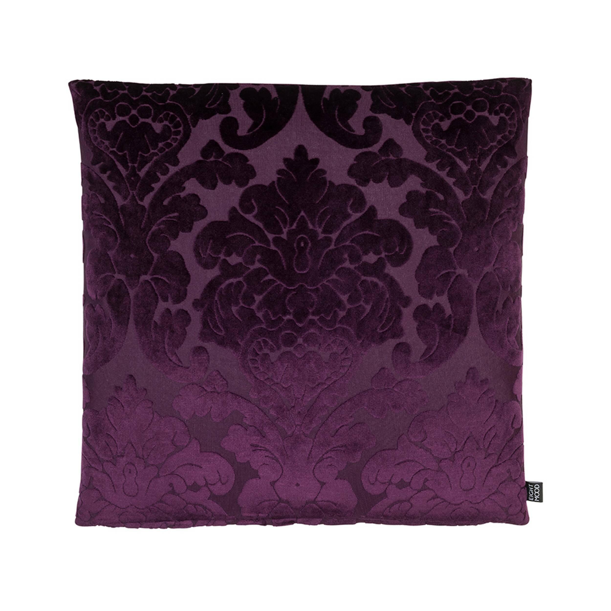 Купить Декоративная подушка CHATEAU (01025093534), Cosmo, Фиолетовый, бархат, перо