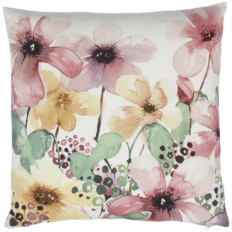 Купить Декоративная подушка ESMERALDA (01025486791), Cosmo, Мульти, хлопок, перо