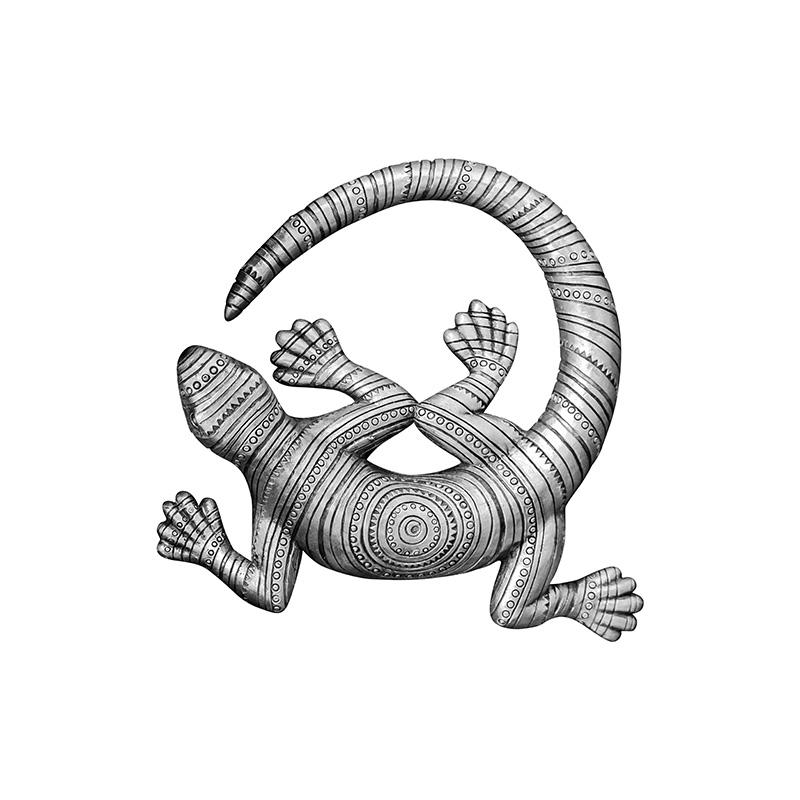 Купить Настенный декор PERCALE (88025359181), Cosmo, Серый, Полирезин