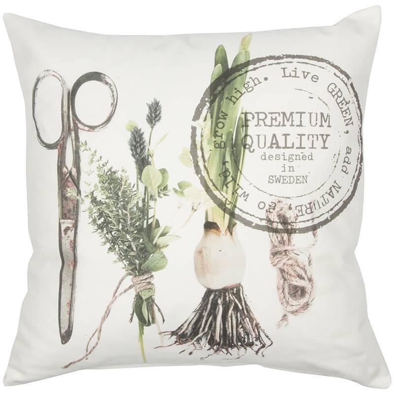 Купить Декоративная подушка OVAL (0112189894), Cosmo, Мульти, хлопок, полиэстер, лен