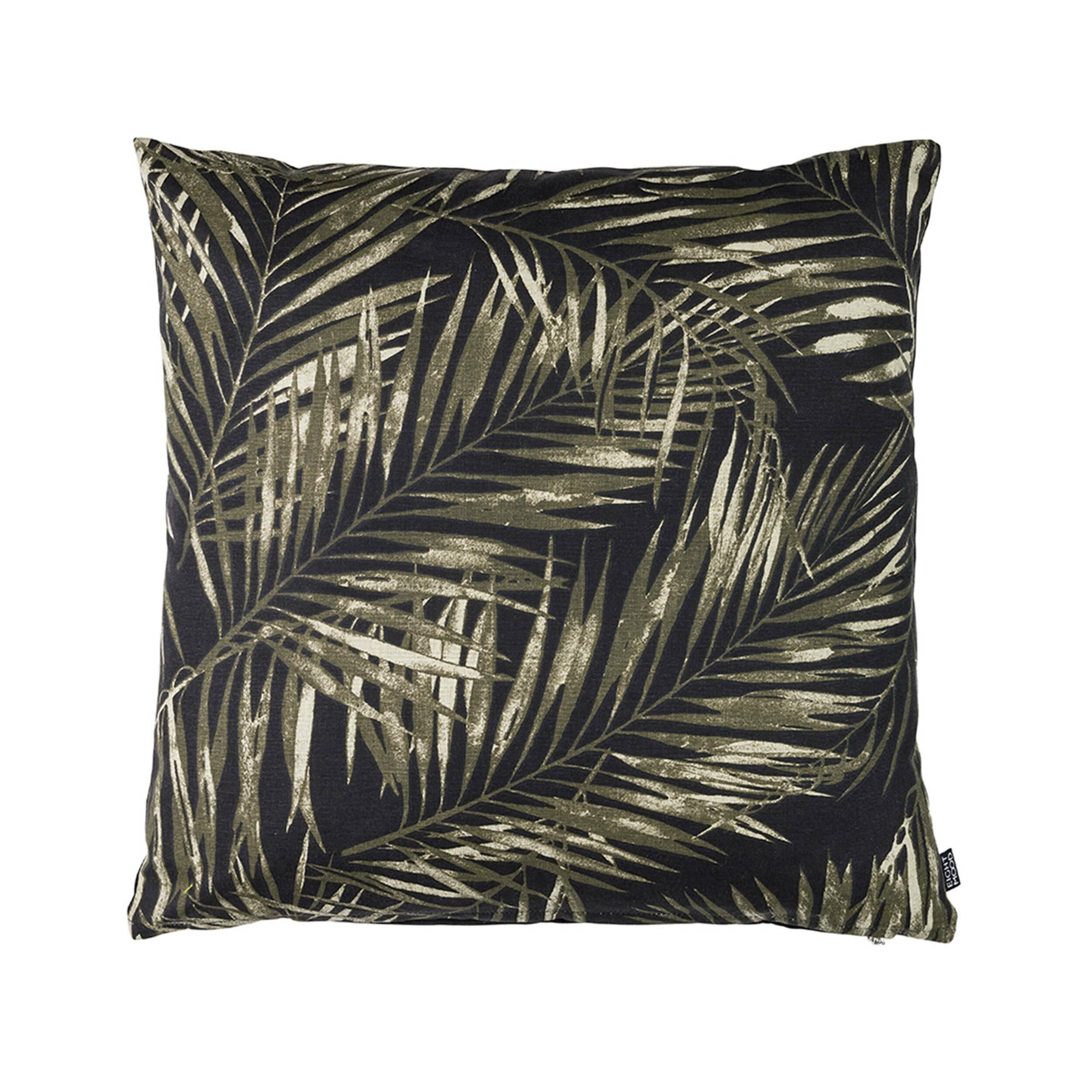 Купить Декоративная подушка LAGUNA (01025604174), Cosmo, зеленый, черный, хлопок, пух-перо