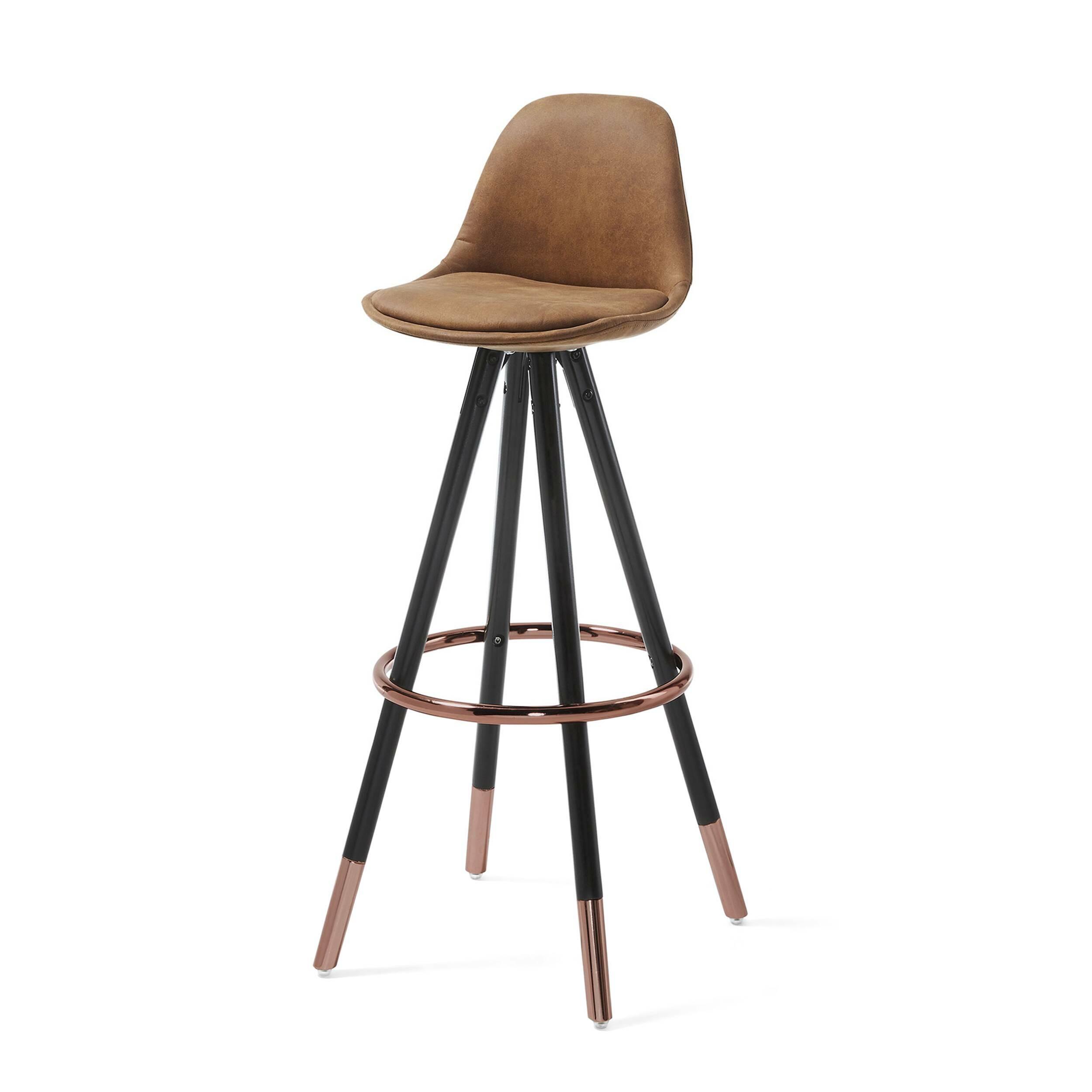 Барный стул Stag коричневый