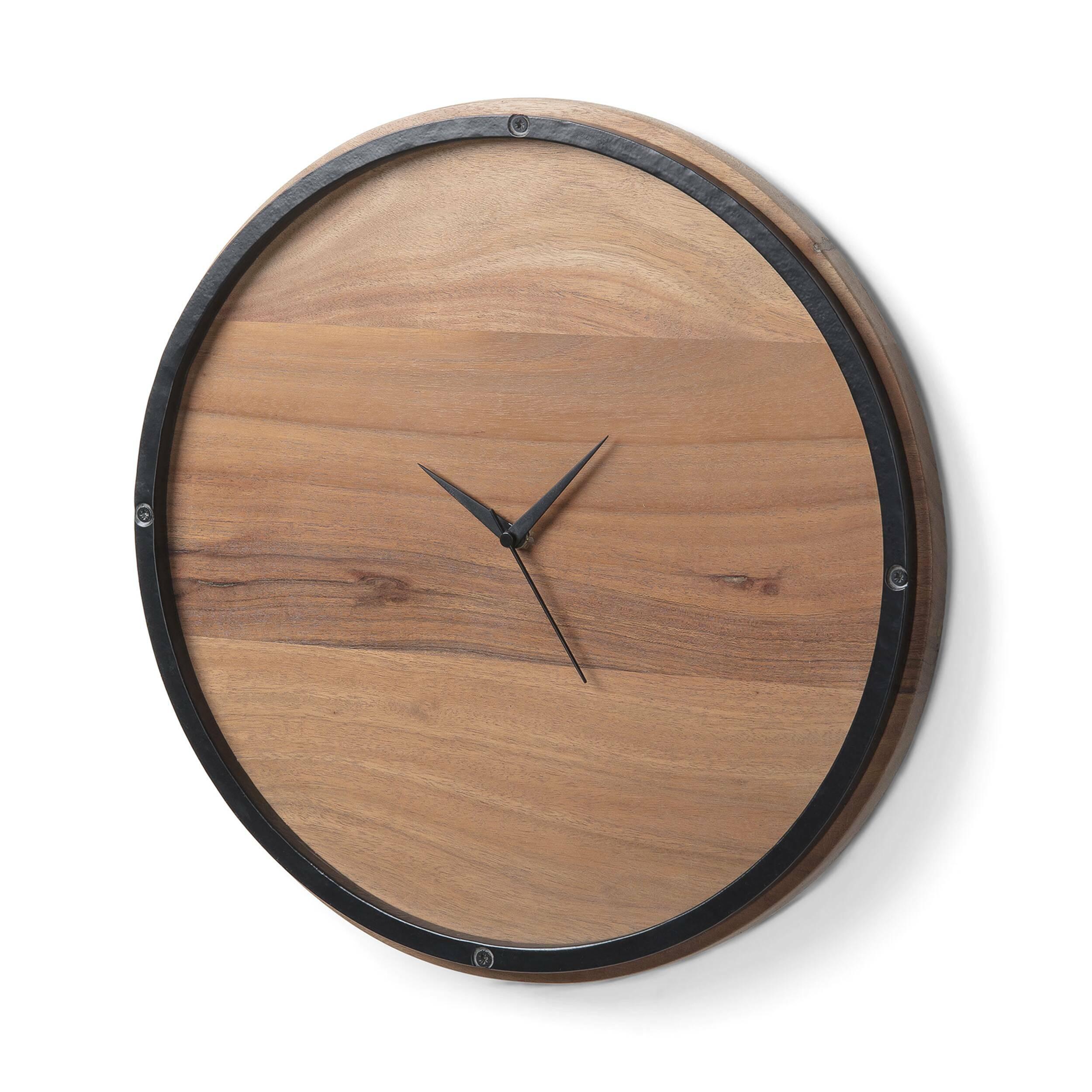 Часы TOGH дерево акации