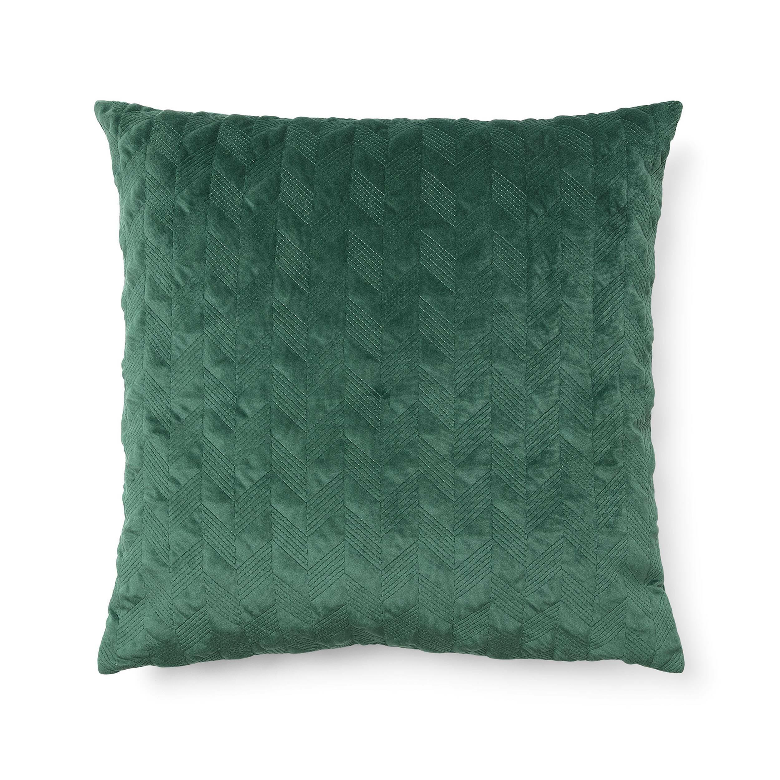 Купить Подушка CALA 45x45 зеленый, Cosmo, Зеленый, Полиэстер