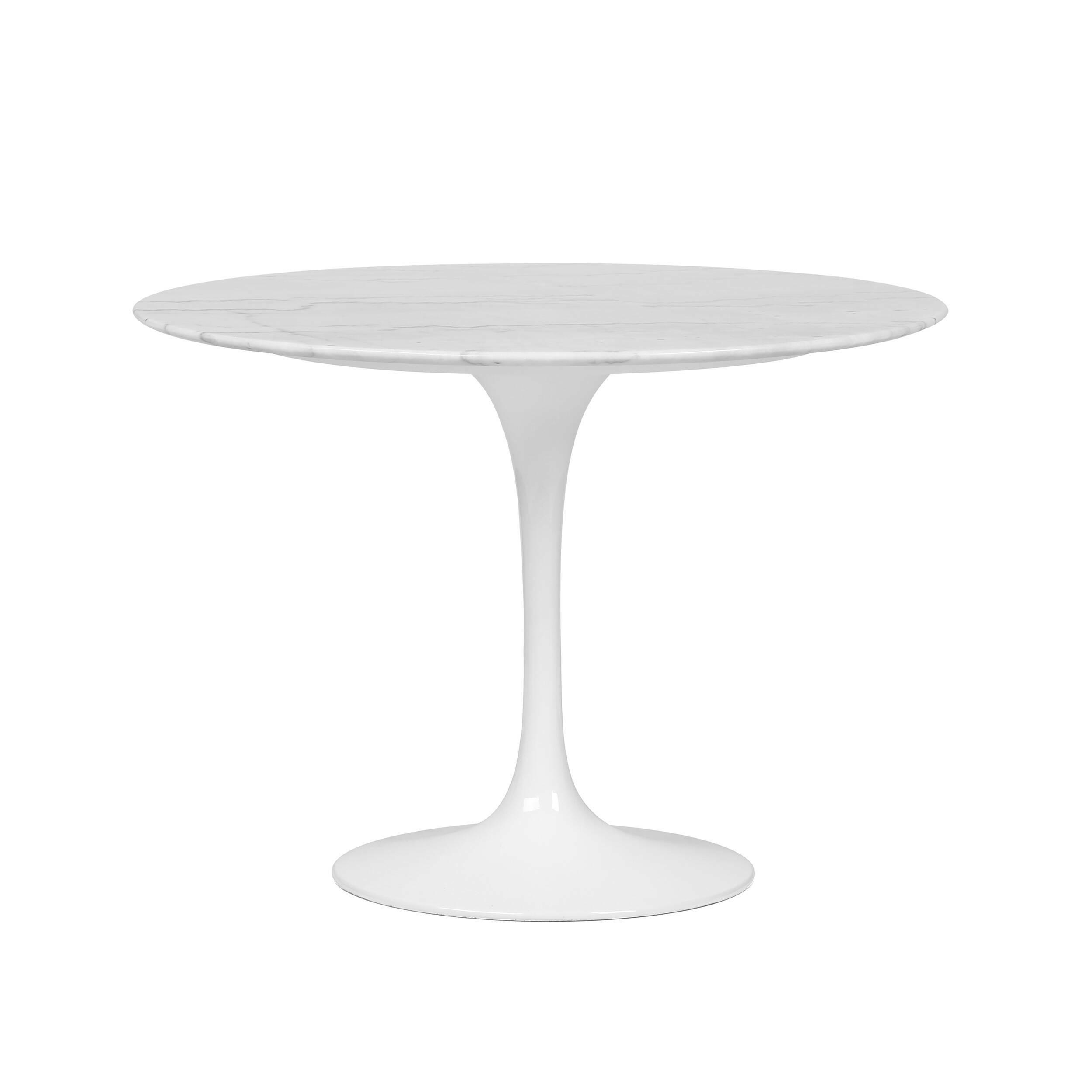 Стол обеденный Tulip Stone II диаметр 100 купить в интернет-магазине дизайнерской мебели Cosmorelax.Ru