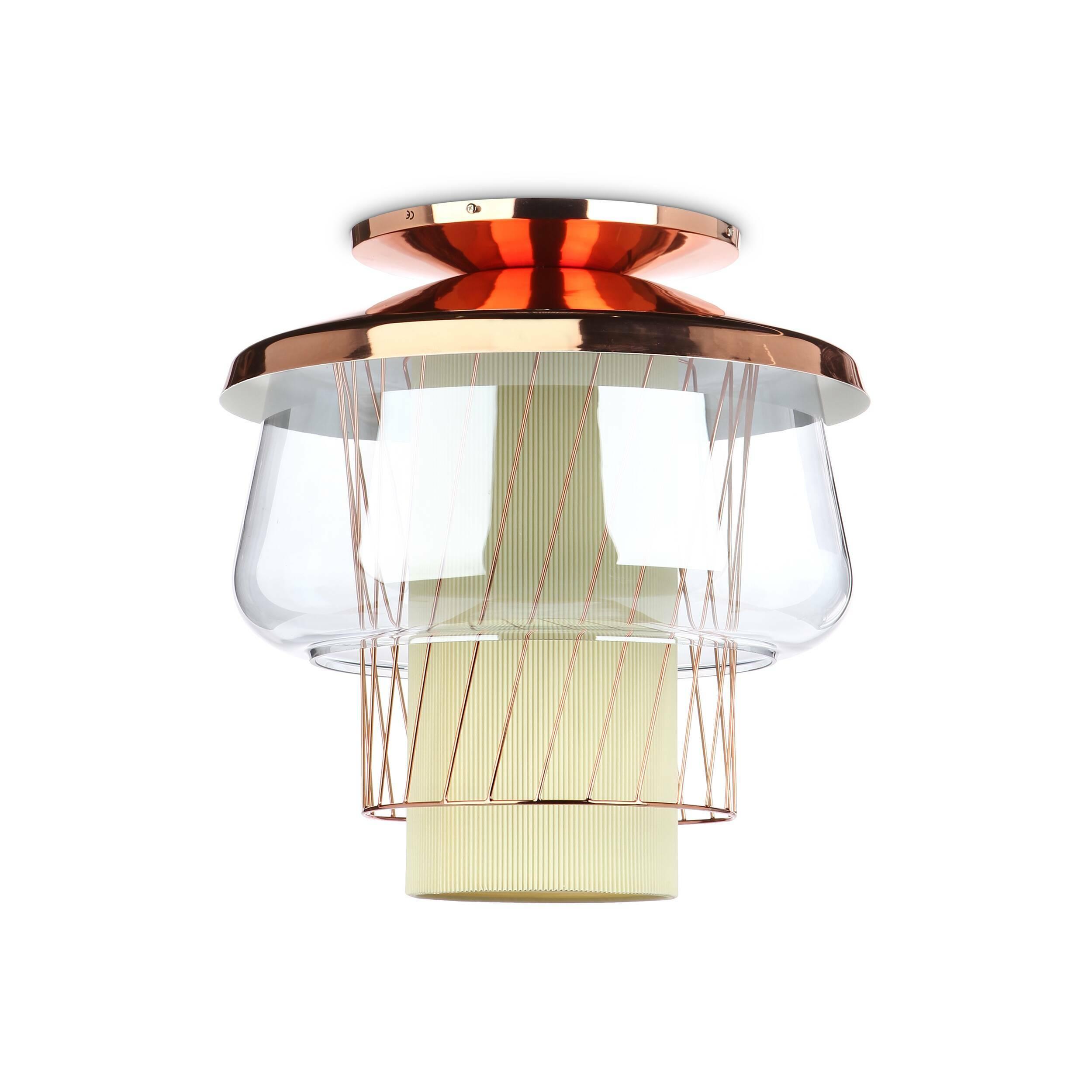 Потолочный светильник  Silk Road диаметр 46