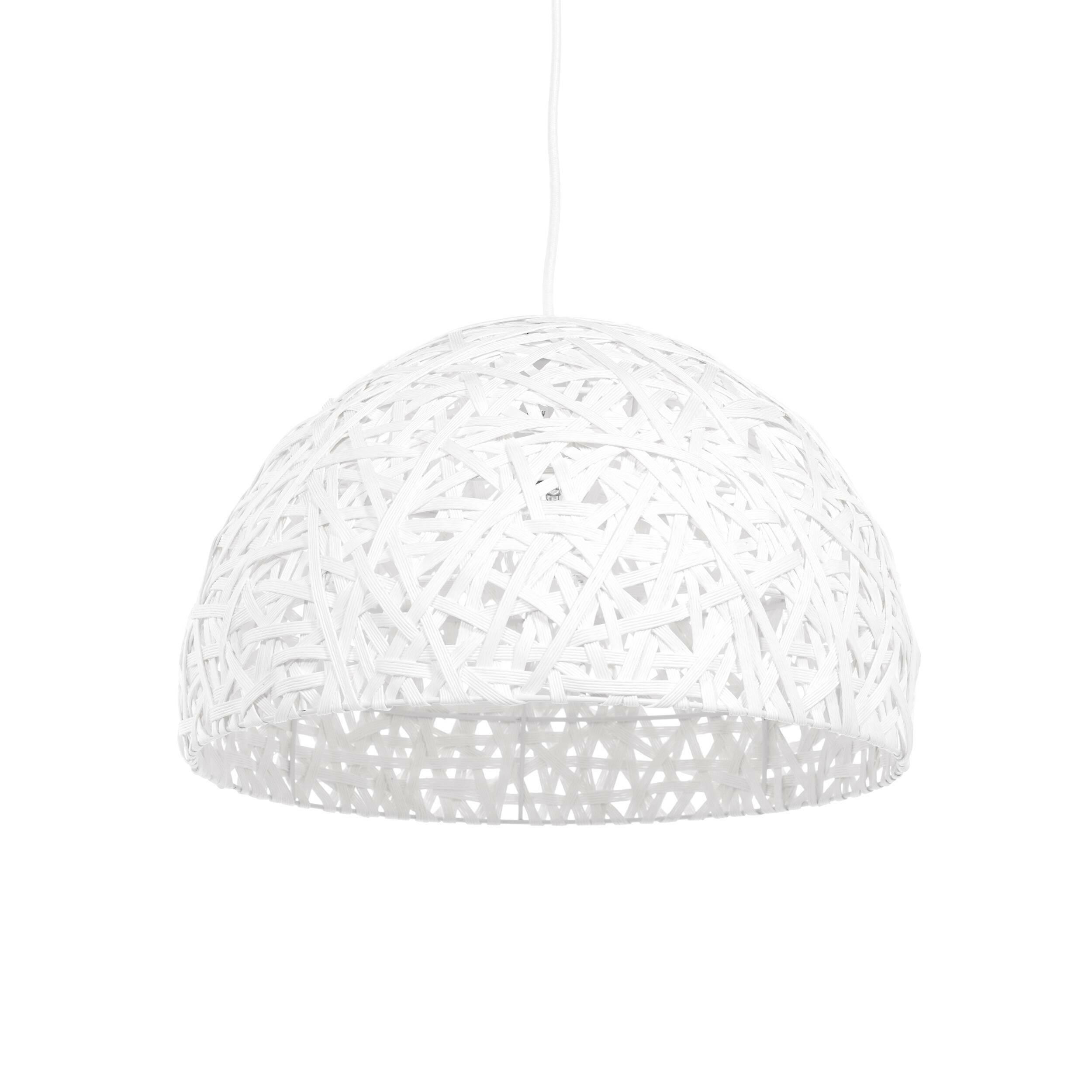 Подвесной светильник NestПодвесные<br>Порой чтобы создать по-настоящему стильный интерьер, совершенно не обязательно прибегать к покупке дорогостоящего наполнения. Очень важно достигнуть баланса простоты и стиля мебели, света и декора. Подвесной светильник Nest — это отличный инструмент, с которым можно создать сдержанный, но стильный дизайн помещения для жизни. <br> <br> Светильник можно использовать как в интерьере гостиной, так и кухни. Дизайнер предусмотрел два цветовых решения, поэтому светильник легко приспособить именно под ва...<br><br>stock: 39<br>Высота: 150<br>Диаметр: 40<br>Количество ламп: 1<br>Материал абажура: Бумага<br>Материал арматуры: Металл<br>Мощность лампы: 40<br>Ламп в комплекте: Нет<br>Напряжение: 220-240<br>Тип лампы/цоколь: E27<br>Цвет абажура: Белый<br>Цвет арматуры: Белый<br>Цвет провода: Белый