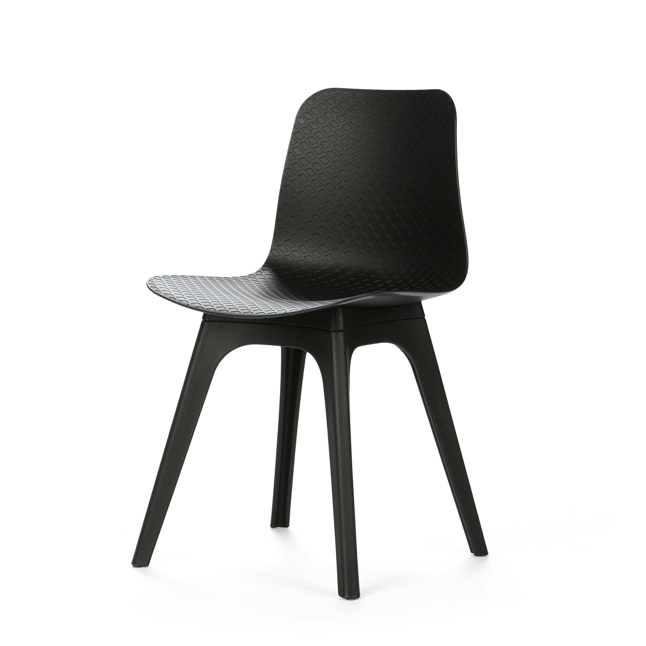 Стул CoachИнтерьерные<br>Дизайнерский черный стул Coach (Коуч) из полипропилена без подлокотников в стиле хай-тек от Cosmo (Космо).<br>Обставляя комнату в современном стиле хай-тек или минимализм, дизайнер делает упор на простоту и лаконичность. В силуэтах предметов мебели и освещения не должно быть ни одной лишней детали — дизайн подчиняется функциональности. Если это стул, то исключительно для сидения, если обеденный стол, то только для трапез. <br> <br> Особенно стильно смотрятся оригинальные глянцевые стулья, выполненн...<br><br>stock: 0<br>Высота: 79.5<br>Высота спинки: 45<br>Ширина: 45<br>Глубина: 47<br>Тип материала каркаса: Полипропилен<br>Цвет каркаса: Черный