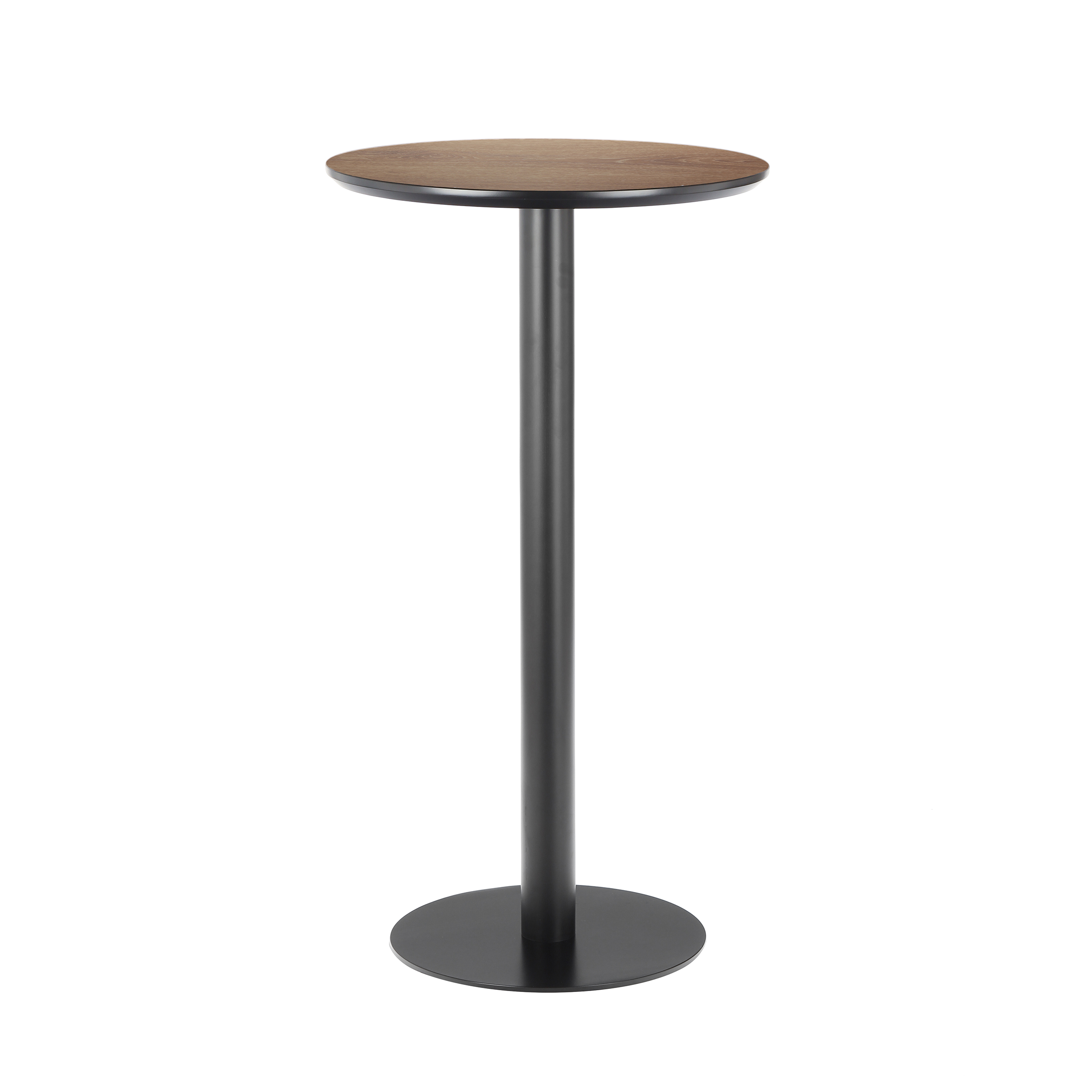 Барный стол LeicesterБарные<br>Дизайнерский коричневый круглый стол Leicester (Лестер) на одной ножке от Cosmo (Космо).<br><br>«Все гениальное просто!» — видно, так считал дизайнер барного стола Leicester. Стол состоит из небольшой столешницы и высокой подножки — настоящее воплощение минимализма. Дизайн стола выполнен в индустриальном стиле, однако и для лофта он вполне сгодится. Использованные в его производстве металл и дерево — это материалы, с которыми постоянно работают дизайнеры-оформители этого направления. <br> <br> К ор...<br><br>stock: 0<br>Высота: 110<br>Диаметр: 60<br>Цвет ножек: Черный<br>Цвет столешницы: Коричневый<br>Тип материала столешницы: МДФ<br>Тип материала ножек: Металл