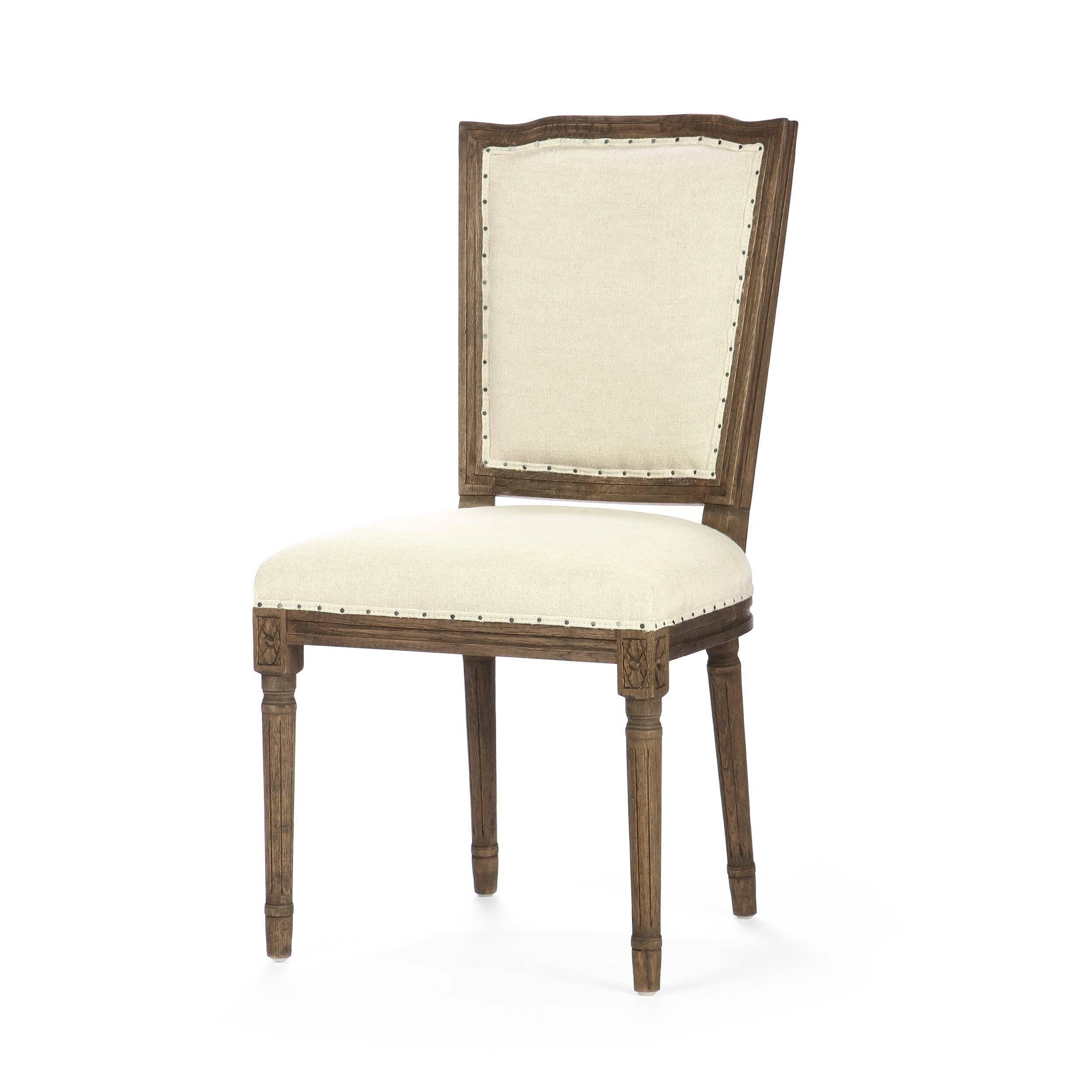 Стул LaurelИнтерьерные<br>Дизайнерский классический обеденный темно-коричневый стул Laurel (Лорел) с высокой спинкой от Cosmo (Космо).<br>Стул Laurel — классическая модель обеденного стула, которая идеально сочетается с различными благородными интерьерами в викторианском, античном и даже колониальном стиле. <br> <br> Особая черта данной модели — обработка деревянных элементов. Резные детали покрыты особым защитным составом, предохраняющим от износа, который также в свою очередь стилизует изделие под антиквариат. «Состаренны...<br><br>stock: 18<br>Высота: 100<br>Высота сиденья: 51<br>Ширина: 50<br>Глубина: 56<br>Наполнитель: Пена<br>Материал каркаса: Массив дуба<br>Тип материала каркаса: Дерево<br>Материал сидения: Лен<br>Цвет сидения: Бежевый<br>Тип материала сидения: Ткань<br>Цвет каркаса: Темно-коричневый