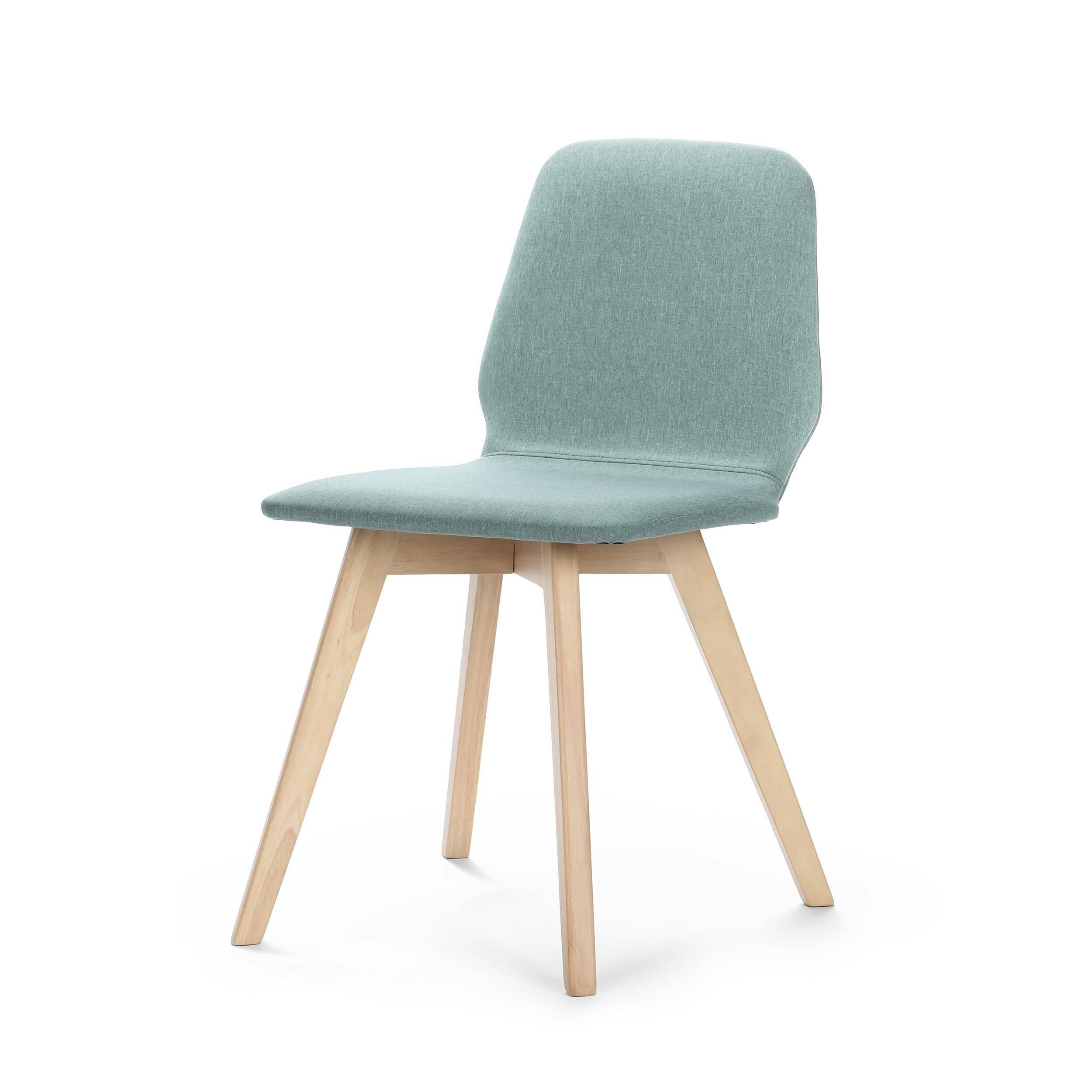 Стул VinceИнтерьерные<br>Стул Vince — обеденный стул от компании Cosmo. Изящен, лаконичен, но в то же время долговечен и прост в уходе. Дизайнер, учтя потребности современного человека, создал уникальный образ, который угодит и любителям классических интерьеров, и предпочитающим нечто современное и стильное. Простые органичные линии переплетены в дизайне, воплощенном и в классических, и современных материалах. Ножки и каркас изделия изготовлены из натуральной древесины гевеи, а сиденье обито качественным полиэстером ...<br><br>stock: 0<br>Высота: 77<br>Высота спинки: 45<br>Ширина: 57<br>Глубина: 47.5<br>Цвет ножек: Светло-коричневый<br>Наполнитель: Пена<br>Материал ножек: Массив каучукового дерева<br>Материал сидения: Полиэстер<br>Цвет сидения: Бирюзовый<br>Тип материала сидения: Ткань<br>Тип материала ножек: Дерево