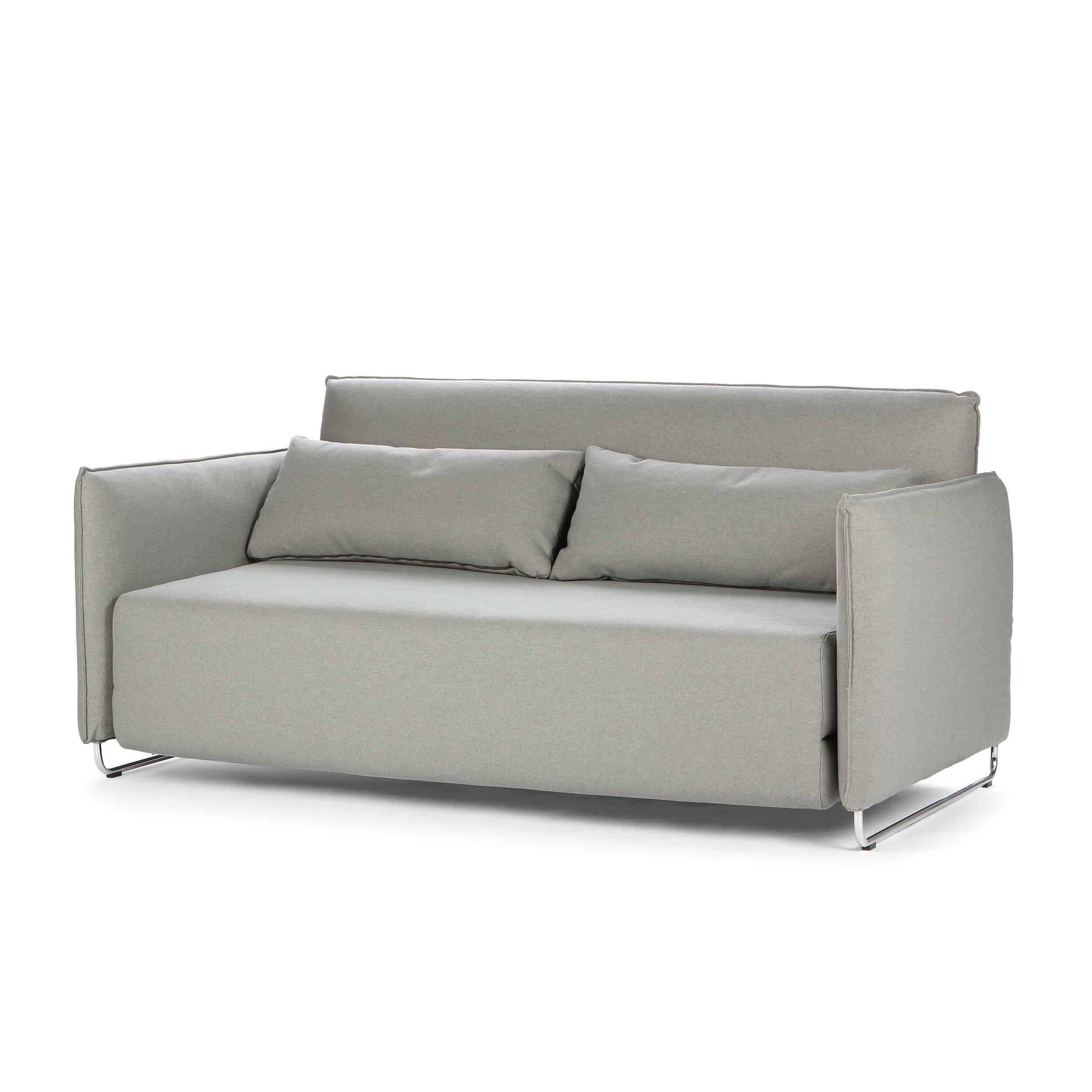 Диван CordРаскладные<br>Дизайнерский темно-коричневый диван Dale (Дэйл) с обивкой из вискозы, полиэстера, льна и на деревянных ножках от Cosmo (Космо).<br> Дизайнеры компании Cosmo разработали диван с весьма универсальным дизайном, который сможет легко вписаться практически в любой интерьер. Диван Dale раскладной имеет приятные округлые формы и теплый, насыщенный темно-коричневый цвет. У дивана небольшие размеры, благодаря чему он станет замечательным украшением небольшого помещения и подарит вам прекрасный, наполнен...<br><br>stock: 3<br>Высота: 76<br>Высота сиденья: 38<br>Глубина: 96<br>Длина: 170<br>Цвет ножек: Хром<br>Материал обивки: Хлопок, Полиэстер<br>Коллекция ткани: Vision<br>Тип материала обивки: Ткань<br>Тип материала ножек: Сталь<br>Размер спального места (см): 200x148<br>Цвет обивки: Серый