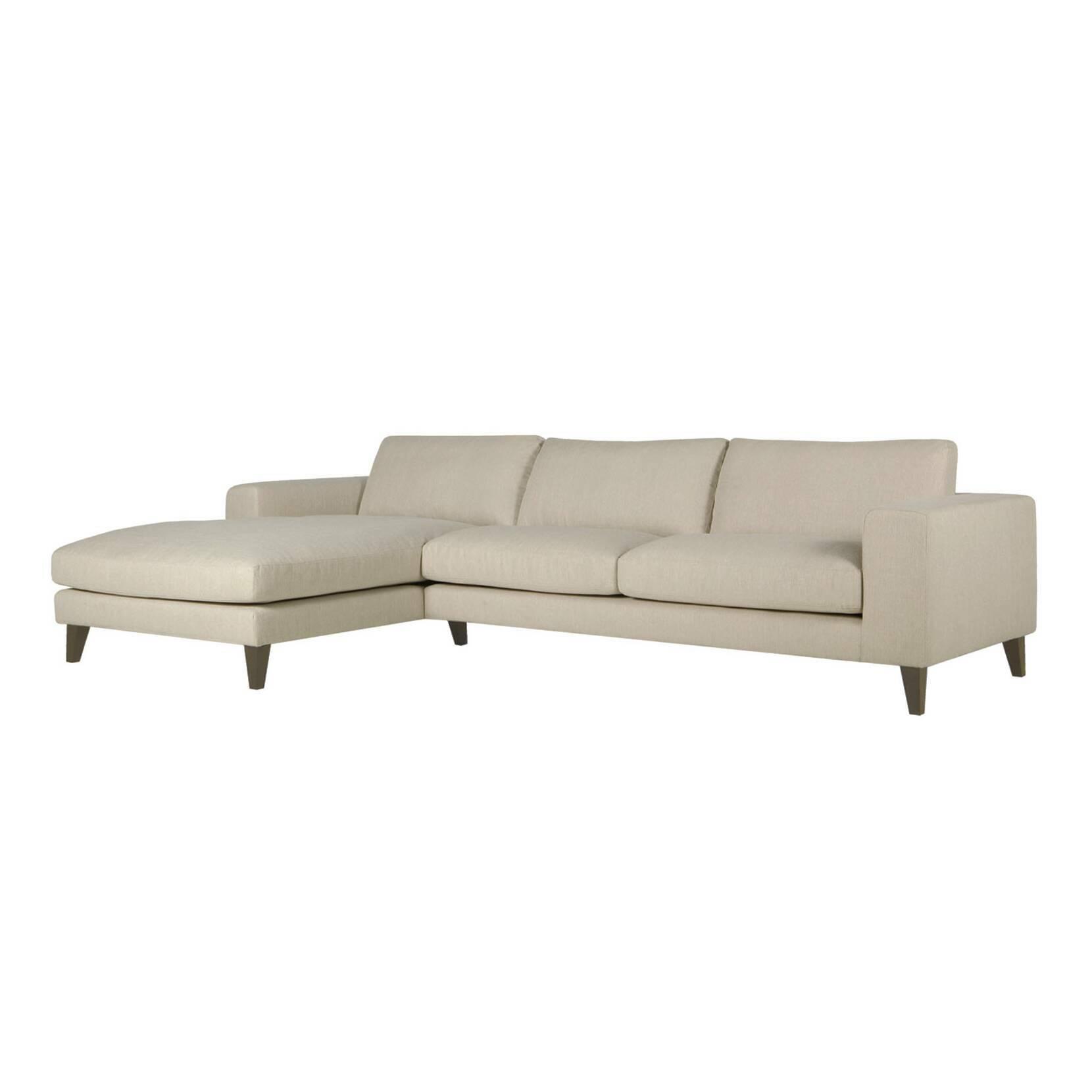 Угловой диван Passion левостороннийУгловые<br>Дизайнерский комфортный светло-коричневый глубокий диван Passion (Пашен) на высоких ножках от Sits (Ситс).<br> Великолепный классический стиль углового дивана Passion левосторонний никого не оставит равнодушным. Легкий, почти воздушный внешний вид в сочетании с внушительными габаритами в результате дает прекрасный дизайн и невероятный комфорт в использовании. Светло-коричневая, практически белая обивка впустит в помещение больше света и визуально увеличит пространство комнаты.<br><br><br> Угловой ди...<br><br>stock: 0<br>Высота: 83<br>Высота сиденья: 46<br>Глубина: 100<br>Длина: 314<br>Цвет ножек: Темно-коричневый<br>Материал обивки: Хлопок, Лен<br>Степень комфортности: Премиум комфорт<br>Мартиндейл: 32500<br>Коллекция ткани: Категория ткани II<br>Тип материала обивки: Ткань<br>Тип материала ножек: Дерево<br>Длина шезлонга (см): 181<br>Цвет обивки: Светло-коричневый