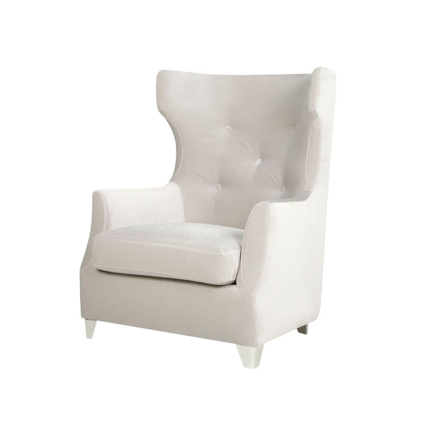 Кресло RoseИнтерьерные<br>Дизайнерское глубокое мягкое кресло Rose (Роуз) с ушами и подлокотниками от Sits (Ситс).<br><br><br> Необычные сочетания классических черт с легкими оттенками современного дизайна в интерьере — кресло Rose производит потрясающее впечатление как своим оформлением, так и очевидной комфортностью отдыха на нем. Главная примечательность кресла — его великолепная спинка. Высокая, слегка изогнутая по бокам, украшенная элегантными пуговицами — такая форма кресла идеально подходит для полноценного рассла...<br><br>stock: 0<br>Высота: 103<br>Высота сиденья: 42<br>Ширина: 82<br>Глубина: 86<br>Цвет ножек: Хром<br>Материал обивки: Полиэстер<br>Степень комфортности: Стандарт комфорт<br>Форма подлокотников: Стандарт<br>Коллекция ткани: Категория ткани III<br>Тип материала обивки: Ткань<br>Тип материала ножек: Металл<br>Цвет обивки: Светло-серый