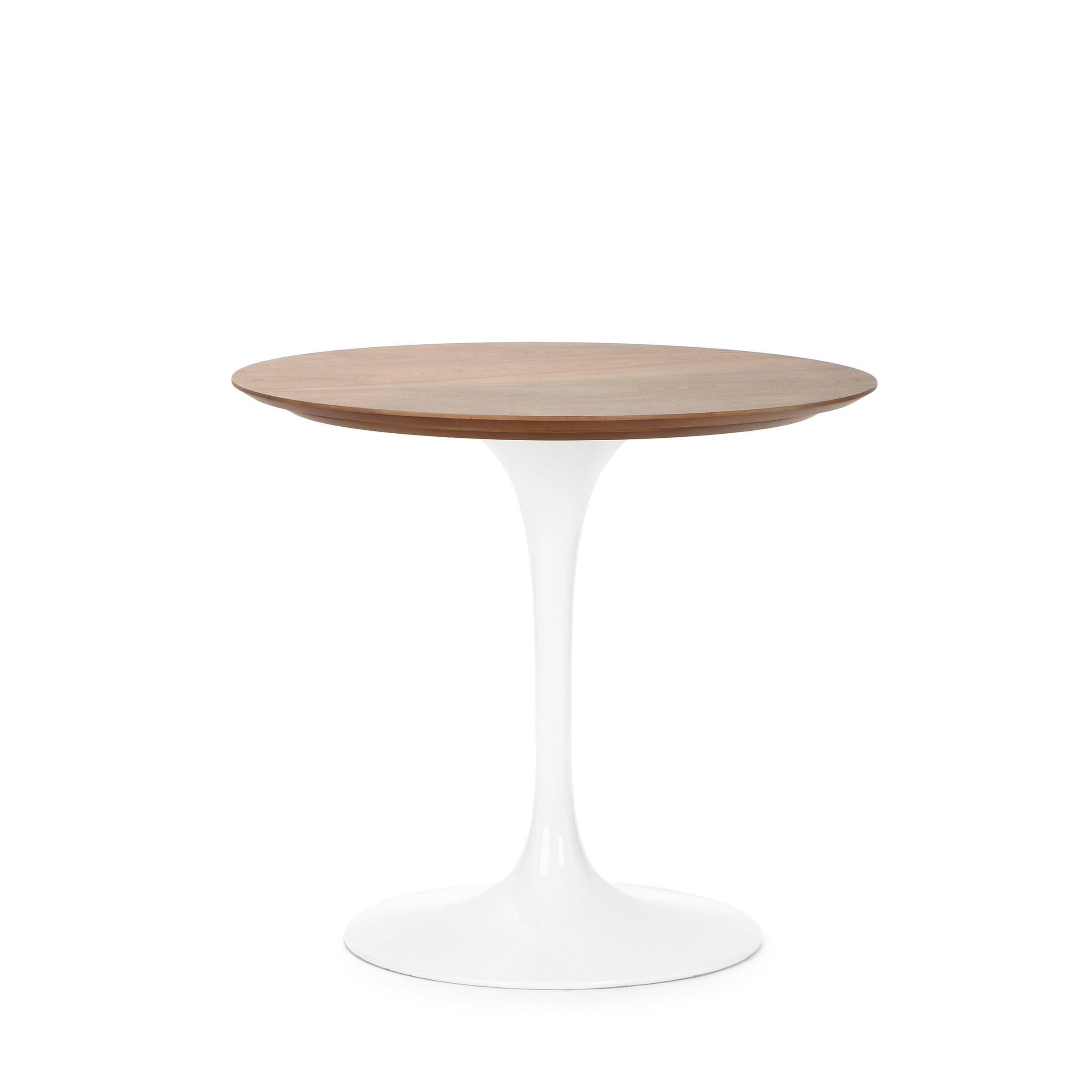 Обеденный стол Tulip с деревянной столешницей диаметр 80 обеденный стол tulip с деревянной столешницей диаметр 122