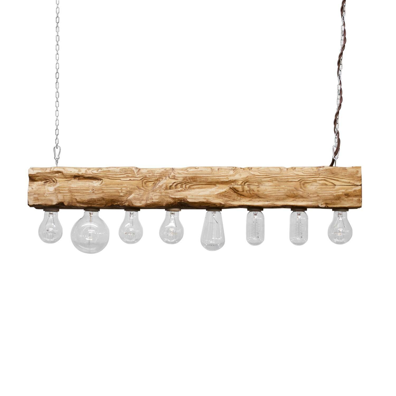 Подвесной светильник Cube 8Подвесные<br><br><br>stock: 0<br>Высота: 10<br>Ширина: 10<br>Длина: 80<br>Длина провода: 120<br>Количество ламп: 8<br>Материал абажура: Сосна<br>Мощность лампы: 40<br>Ламп в комплекте: Нет<br>Напряжение: 220<br>Тип лампы/цоколь: E27<br>Тип производства: Ручное производство<br>Цвет абажура: Дуб