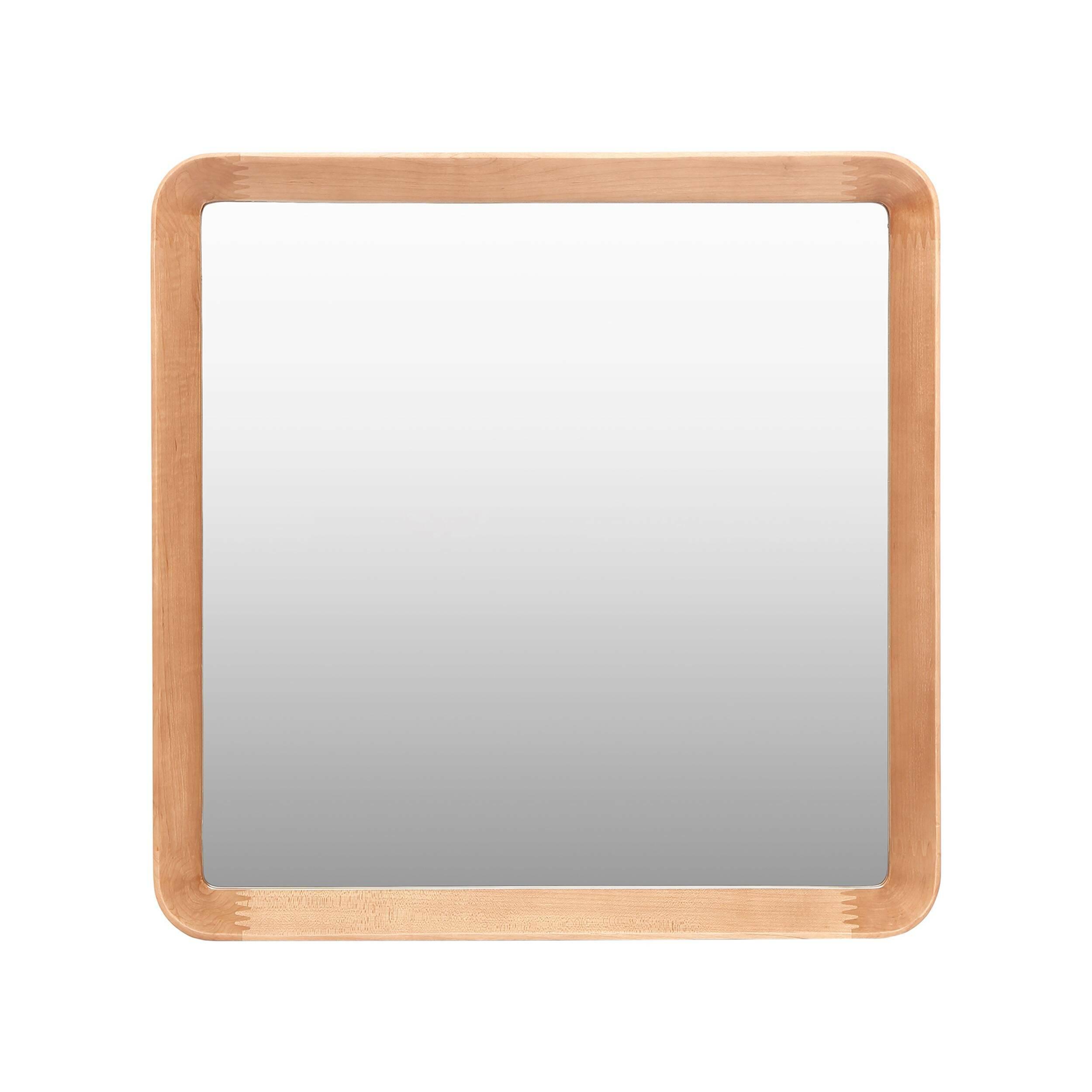 Настенное зеркало Velodrome квадратноеНастенные<br>Дизайнер Шон Дикс знает толк в современном минималистичном интерьере. За годы своего становления как дизайнера Дикс разработал свой фирменный стиль, состоящий из мотивов нескольких стилей в интерьере — эко и хай-тек. Если взглянуть хотя бы на несколько его работ, то впредь распознать авторский почерк будет несложно. Экоматериалы, сглаженные линии, натуральная текстура дерева — это постоянные атрибуты мебели и декора от Дикса. Мебель Шона Дикса минималистична и интеллектуальна, прекрасно обраб...<br><br>stock: 3<br>Высота: 60<br>Ширина: 60<br>Материал: Дуб белый