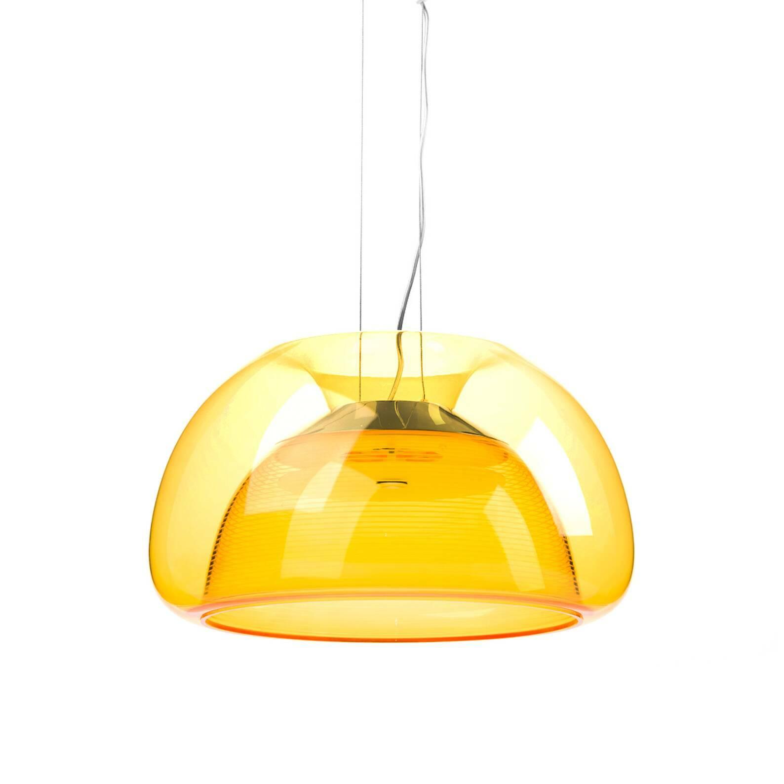Подвесной светильник AureliaПодвесные<br>Подвесной светильник Aurelia — это завораживающий, удивительно красивый светильник, название которого переводится как «лунная медуза». Светильник Aurelia вызывает чувство спокойствия, граничащее с состоянием транса.<br><br><br><br> Энергосберегающие светодиодные лампы подвесного светильника Aurelia, на создание которых авторов вдохновили загадочные обитатели подводного мира, заставляют испытывать восторг не только при взгляде на светильник, но и при прикосновении к нему. Подвесной светильник Au...<br><br>stock: 0<br>Высота: 200<br>Диаметр: 35<br>Материал абажура: Акрил<br>Мощность лампы: 18<br>Напряжение: 220<br>Тип лампы/цоколь: LED<br>Цвет абажура: Оранжевый