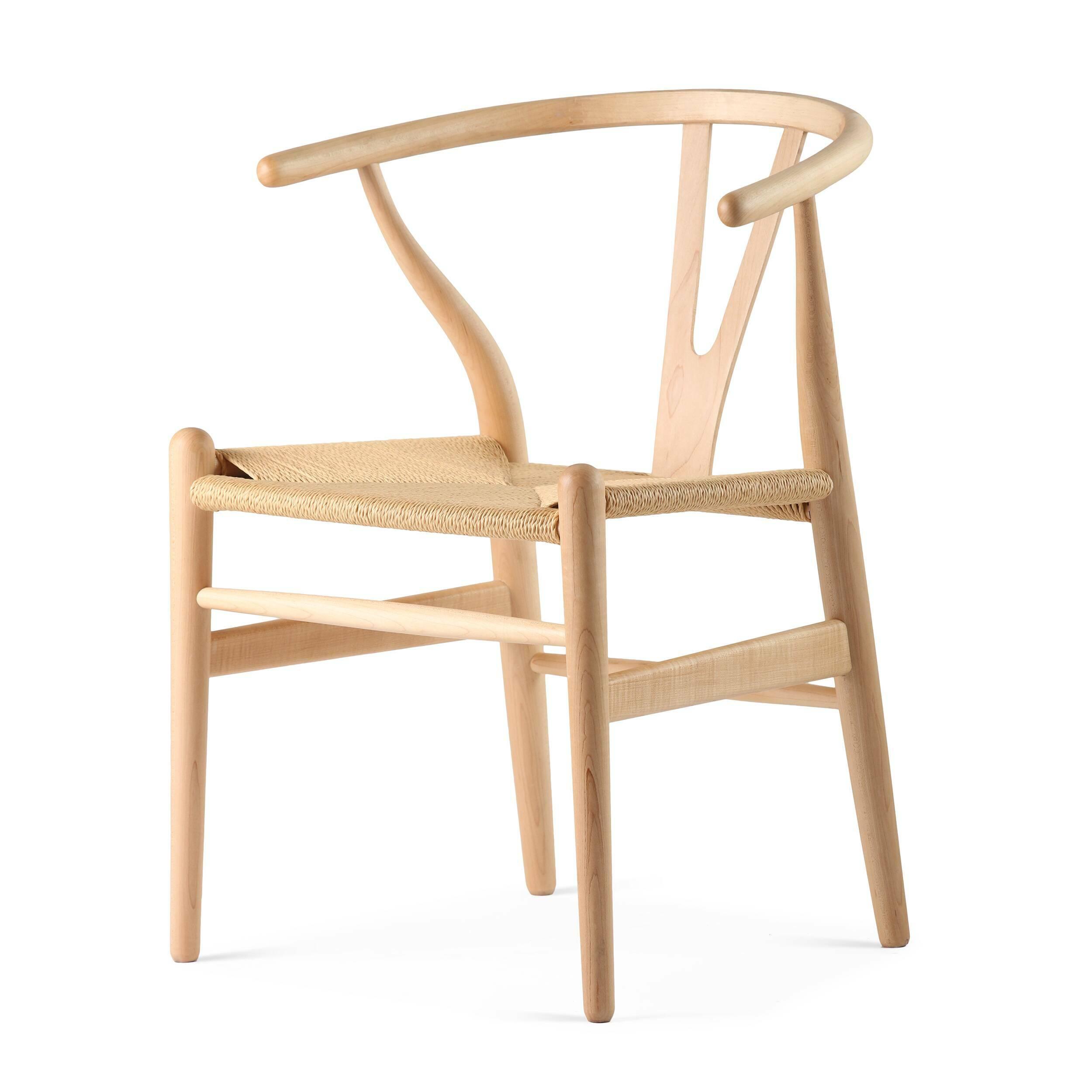 Стул Wishbone окрашеный стул page