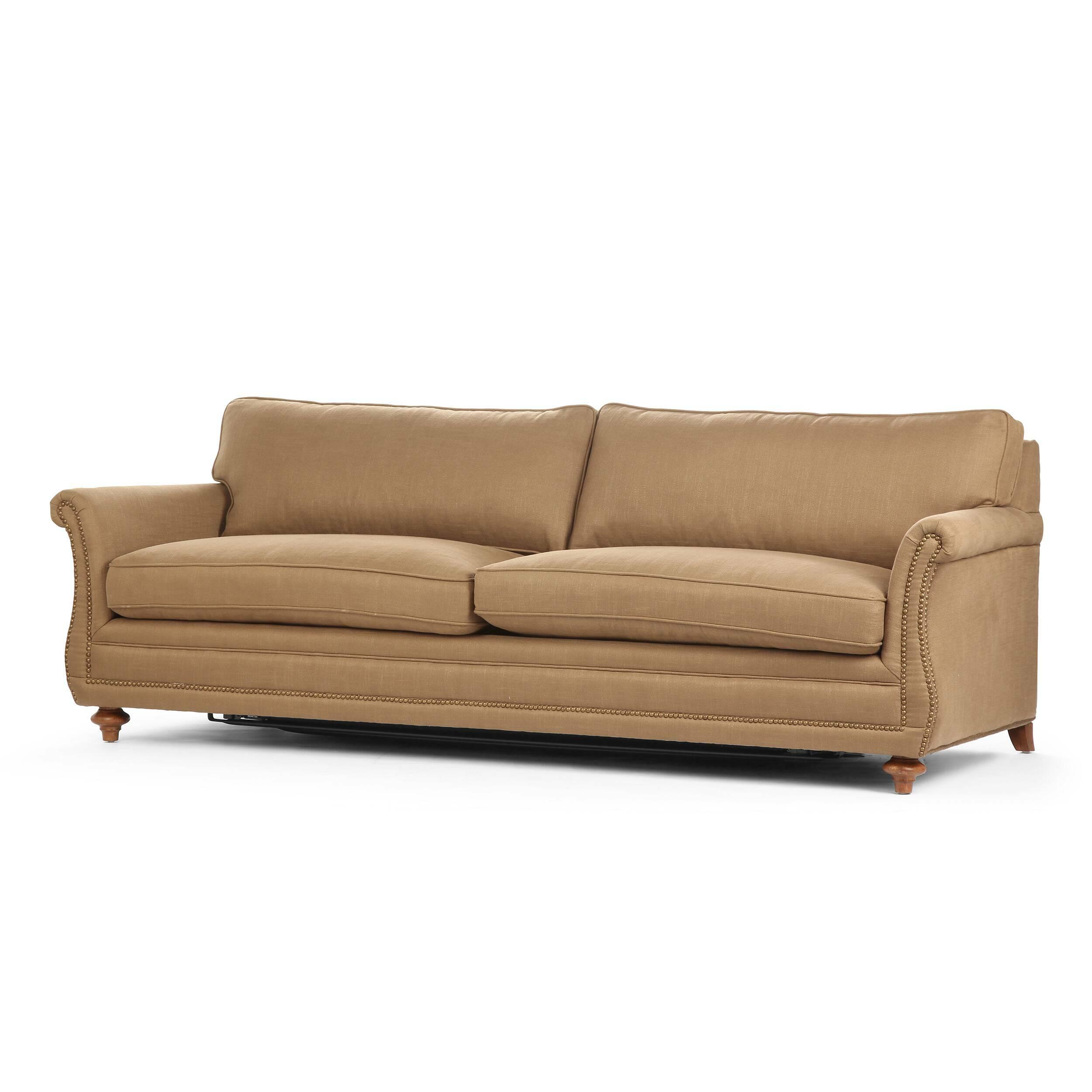 Диван BrayРаскладные<br>Дизайнерский коричневый раскладной диван Bray (Брэй) с тканевой обивкой на темно-коричневых ножках от Cosmo (Космо).<br> Классический стиль и приятное, легкое цветовое исполнение — диван Bray цепляет своим очевидным комфортом и ненавязчивой красотой. Удобные подлокотники дополняют необычайно комфортное сиденье и спинку, что в результате дает замечательную конструкцию, позволяющую вам с удобством устроиться как в рабочем офисе, так и в любимой гостиной комнате. Диван выполнен в однотонном форма...<br><br>stock: 6<br>Высота: 76<br>Высота сиденья: 55<br>Глубина: 100<br>Длина: 235<br>Цвет ножек: Дуб<br>Механизмы: Раскладной<br>Материал ножек: Массив дуба<br>Материал обивки: Лен, Полиэстер, Вискоза<br>Тип материала обивки: Ткань<br>Тип материала ножек: Дерево<br>Цвет обивки: Коричневый