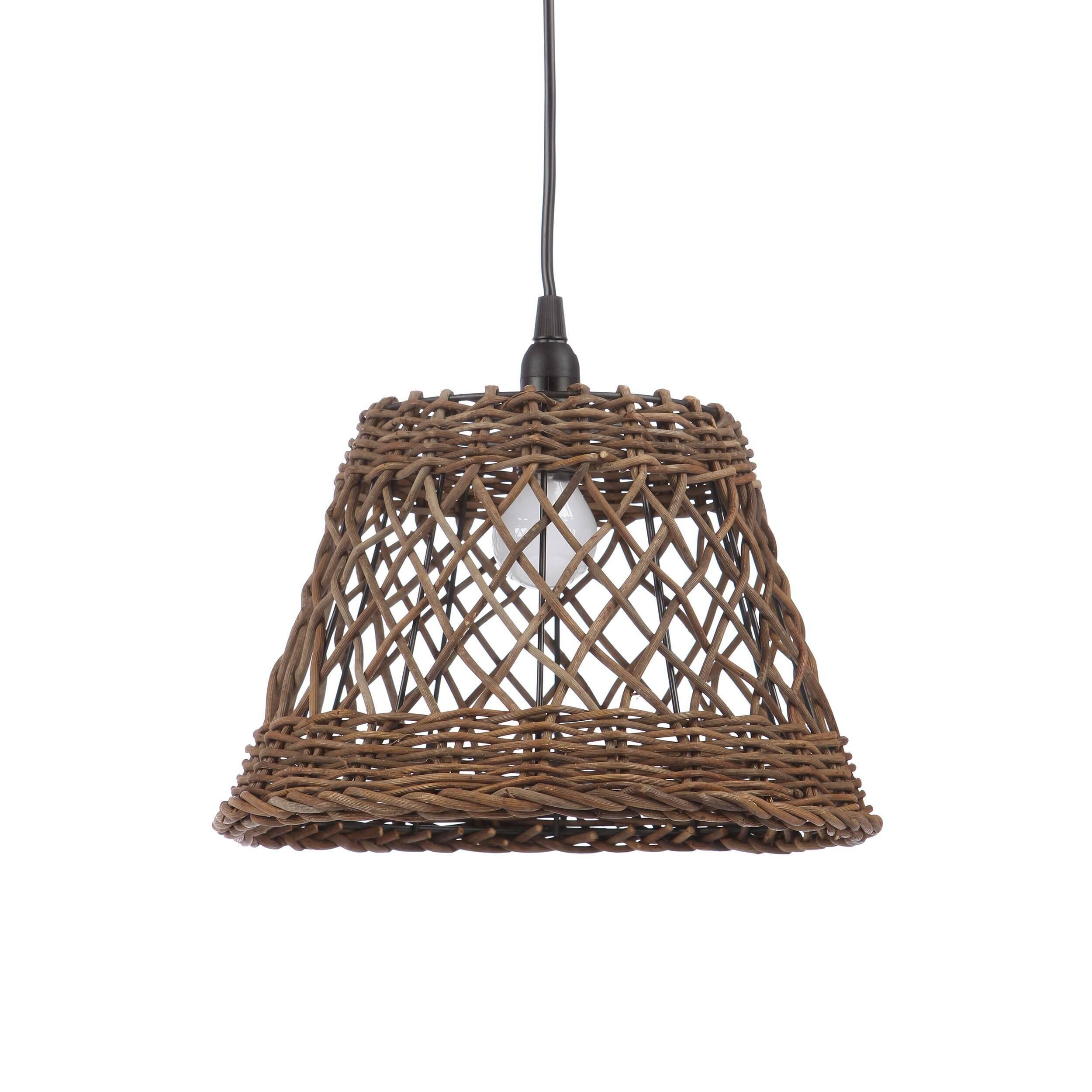 Подвесной светильник Rattan Cone
