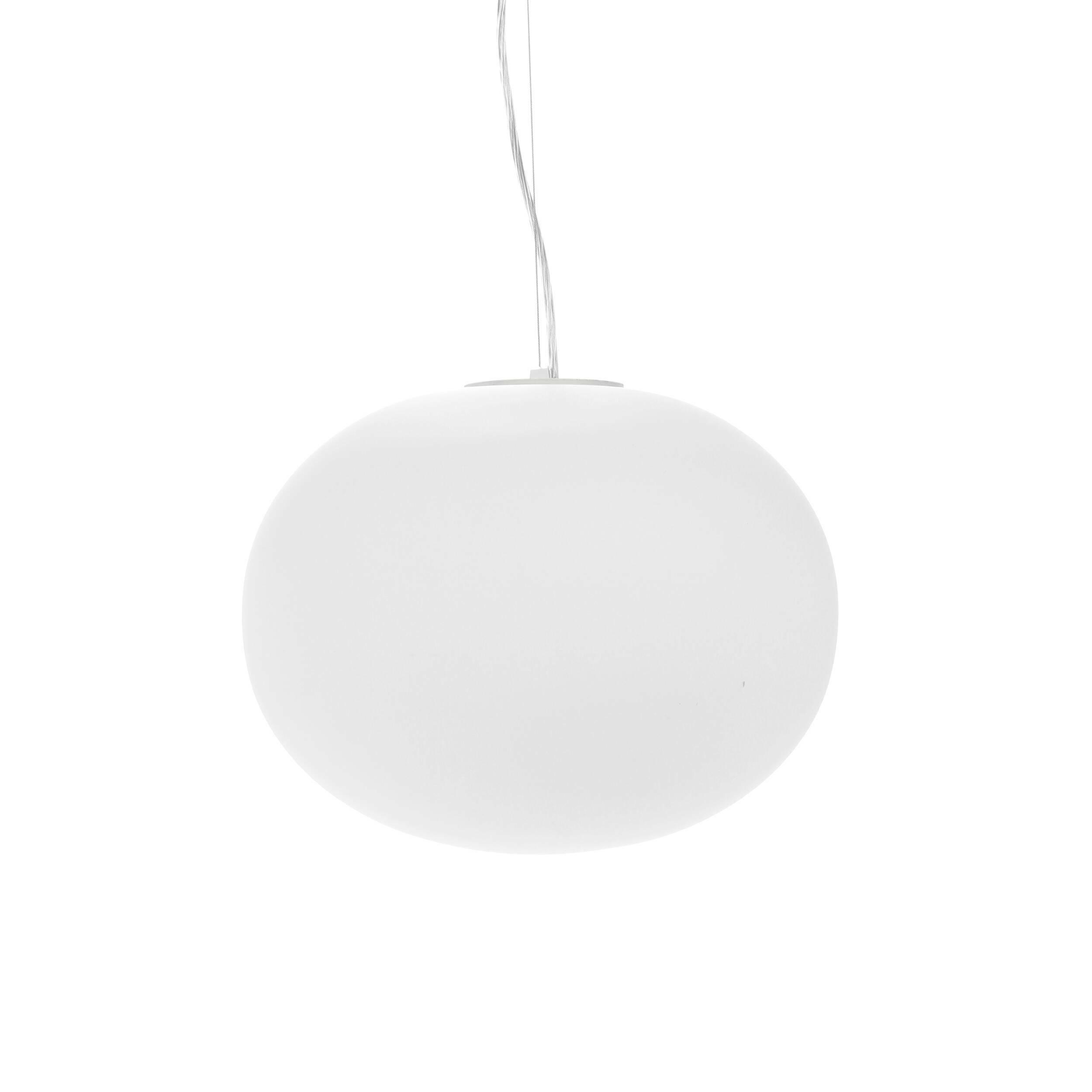 Подвесной светильник Pot of Porridge диаметр 33Подвесные<br>Подвесной светильник Pot of Porridge диаметр 33<br>— это современное, оригинально оформленное творение ведущих западных дизайнеров, которые постарались дополнить минимализм изделия некоторым необычным оформлением. Название светильника переводится как «горшочек с кашей», и правда можно представить, что круглый плафон — это оригинальный, необычайно красивый горшочек, а провод, обвивающий держатель светильника, — это идущий из горшочка аппетитный аромат или пар.<br><br><br><br><br> Плафон светильника P...<br><br>stock: 12<br>Высота: 26<br>Диаметр: 33<br>Количество ламп: 1<br>Материал абажура: Стекло<br>Материал арматуры: Сталь<br>Мощность лампы: 60<br>Ламп в комплекте: Нет<br>Напряжение: 220<br>Тип лампы/цоколь: E27<br>Цвет абажура: Белый<br>Цвет арматуры: Хром