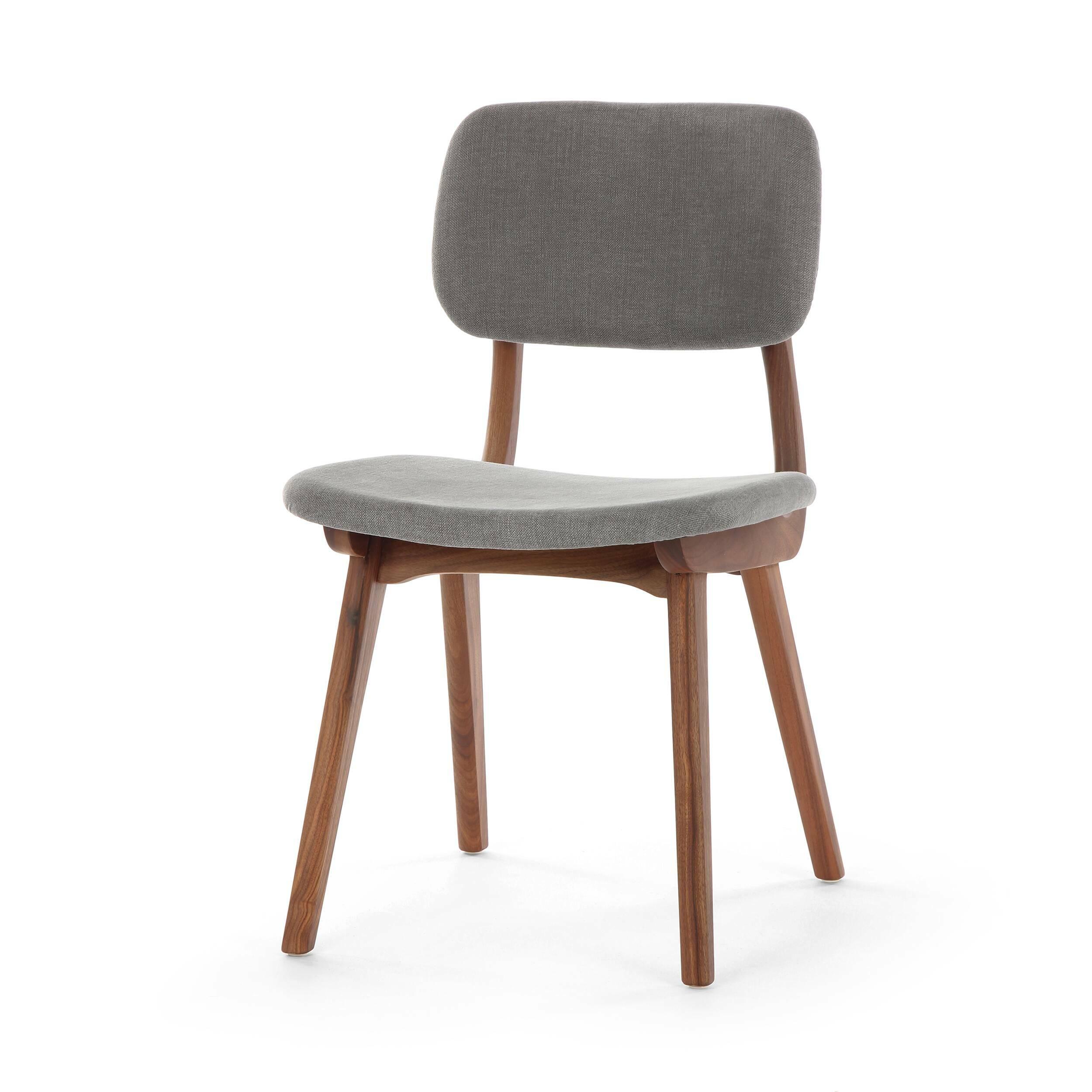 Стул Civil 1Интерьерные<br>Стул Civil 1 — это простой дизайн и комфорт, стиль и изящество элитного дерева. Этот стул будет прекрасно смотреться не только в офисе или кабинете, но и отлично впишется в интерьер вашей квартиры. Благодаря различным расцветкам, имеющимся в наличии, вы сможете подобрать стул, который подойдет именно вам.<br><br><br> В качестве основного материала для изготовления этих стульев используется высококачественная, невероятно прочная древесина американского ореха и белого дуба. Сиденье и спинка стуль...<br><br>stock: 24<br>Высота: 78<br>Высота сиденья: 44<br>Ширина: 45<br>Глубина: 52,5<br>Материал каркаса: Массив ореха<br>Тип материала каркаса: Дерево<br>Материал сидения: Хлопок, Лен<br>Цвет сидения: Серый<br>Тип материала сидения: Ткань<br>Коллекция ткани: Ray Fabric<br>Цвет каркаса: Орех