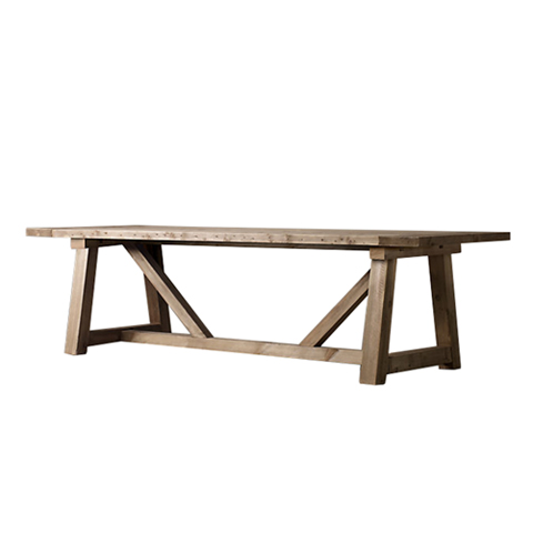 Купить Стол Привиледж (PRIVILEGE 200), Restoration Hardware, natural oak, Массив дуба состаренный