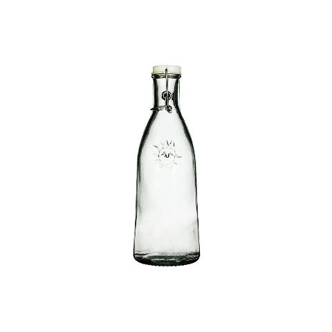 Бутыль Сан  (5415)Посуда<br>San Miguel (Испания) – это мощнейшая компания, которая занимается производством очень качественной и оригинальной продукции из переработанного стекла. Vidrios San Miguel известный бренд во всем мире. В наши дни, Vidrios San Miguel имеет более чем 25 000 торговых точек.  Vidrios San Miguel занимается производством стеклянных изделий: посуда, бутылки, вазы, сувениры, украшения и многое другое. Основной экспорт происходит в страны: западной и восточной Европы, Америки, Азии и Африки.<br><br>stock: 129<br>Материал: Стекло<br>Цвет: Clear<br>Объем: 950<br>Объем: (51:94490025907a102b11e55de731a4d423)