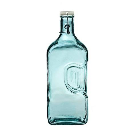 Бутыль (5729)Посуда<br>San Miguel (Испания) – это мощнейшая компания, которая занимается производством очень качественной и оригинальной продукции из переработанного стекла. Vidrios San Miguel известный бренд во всем мире. В наши дни, Vidrios San Miguel имеет более чем 25 000 торговых точек.  Vidrios San Miguel занимается производством стеклянных изделий: посуда, бутылки, вазы, сувениры, украшения и многое другое. Основной экспорт происходит в страны: западной и восточной Европы, Америки, Азии и Африки.<br><br>stock: 61<br>Высота: 32<br>Ширина: 9<br>Материал: Стекло<br>Цвет: Clear<br>Длина: 13<br>Ширина: 9<br>Высота: 32<br>Длина: 13