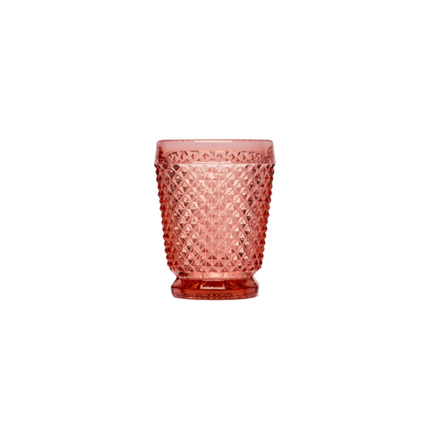 Стакан (ACN21/031573C33006)Посуда<br>Фабрика VISTA ALEGRE с 1824 года изготавливает изделия из цветного стекла , смешивая песок и натуральные пигменты. Стеклянные изделия создают ручным способом путем заливания в пресс-формы жидкого стекла. Уникальные цвета и узоры на изделиях позволяют использовать их в любых интерьерных стилях, будь то Шебби шик, арт деко, богемный шик, винтаж или современный стиль.<br><br>stock: 137<br>Материал: Стекло<br>Цвет: Pink<br>Объем: 200<br>Объем: (51:94490025907a102b11e55de44d08e39e)