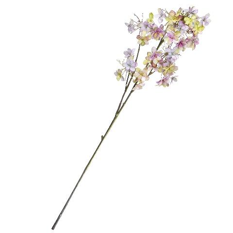 Гортензия (96925)Разное<br>SILK-KA - это известная Голландская компания, которая занимается производством искусственных цветов, фруктов и декоративных растений из шелка. Компания была создана благодаря безудержной страсти Patrick Oude Groeniger (директор и создатель SILK-KA) к цветам и фруктам. <br><br>Особое внимание создатель обратил на подлинное качество и безупречность искусственных цветов и фруктов. Всё создавалось с такой целью, чтобы трудно было отличить настоящее от искусственного. <br><br>Мастера компании активно работают...<br><br>stock: 8<br>Материал: Обработанная ткань, пластик<br>Цвет: Mixed<br>Длина: 76