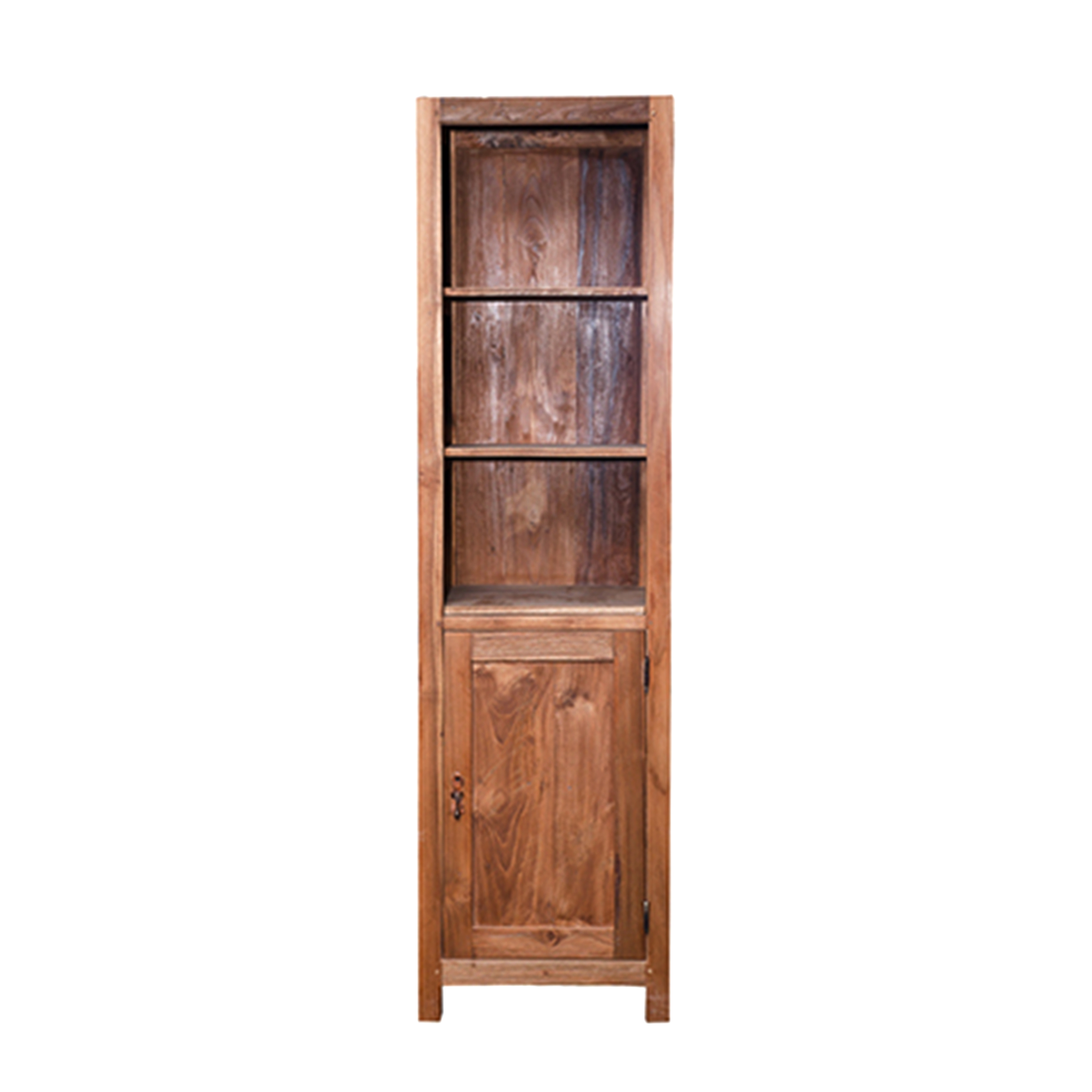 Шкаф Бермуда (DCRT1D-R N)Шкафы<br>ROOMERS – это особенная коллекция, воплощение всего самого лучшего, модного и новаторского в мире дизайнерской мебели, предметов декора и стильных аксессуаров.<br><br>Интерьерные решения от ROOMERS в буквальном смысле не имеют границ. Мебель, предметы декора, светильники и аксессуары тщательно отбираются по всему миру – в последних коллекциях знаменитых дизайнеров и культовых брендов, среди искусных работ hand-made мастеров Европы и Юго-Восточной Азии во время большого и увлекательного путешествия,...<br><br>stock: 2<br>Высота: 181<br>Ширина: 40<br>Материал: массив тикового дерева<br>Цвет: Rustic 3/Natural<br>Длина: 50