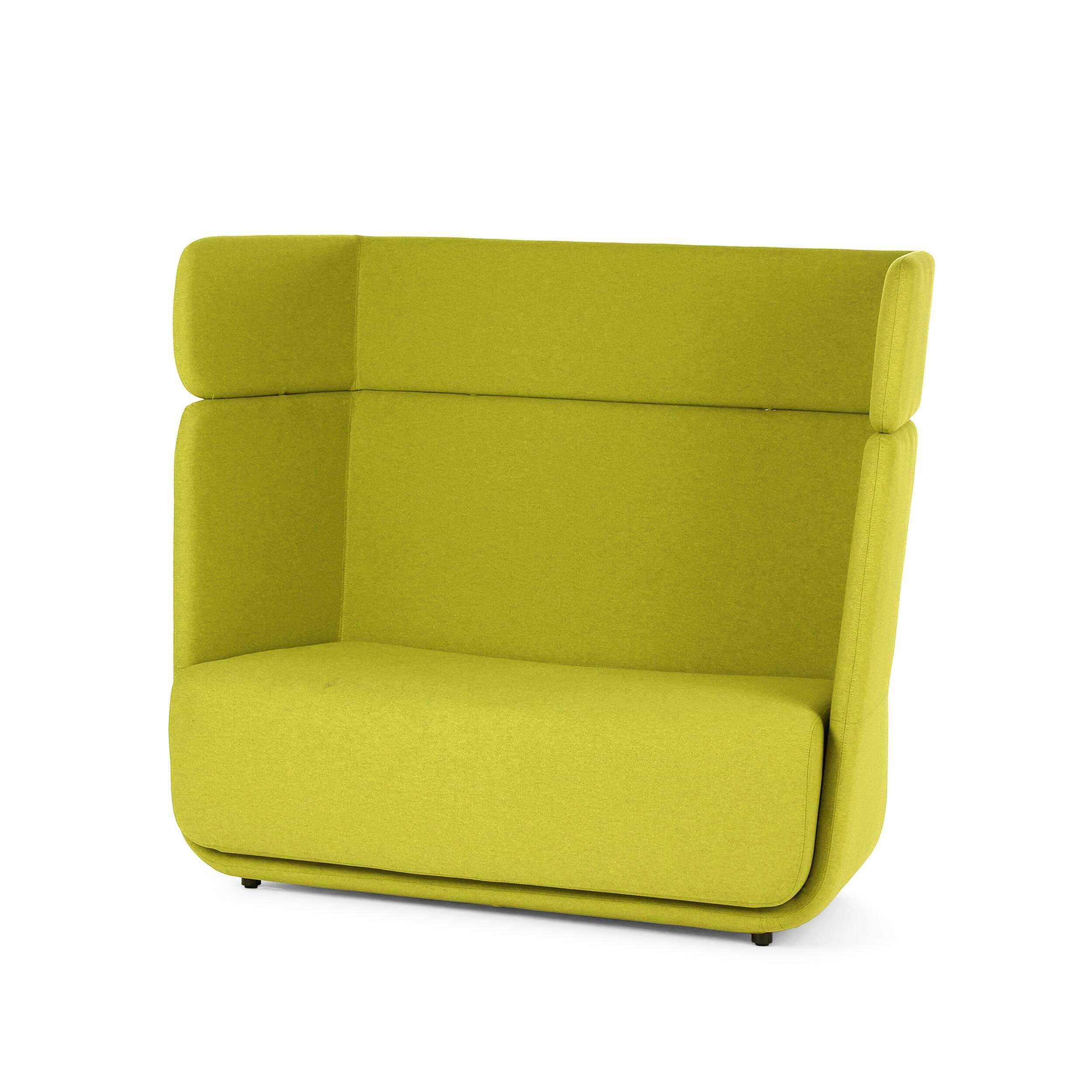 Диван BasketДвухместные<br>Дизайнерский креативный яркий диван Basket (Баскет) с высокой спинкой от Softline (Софтлайн).<br><br><br> Диван Basket разработан как интегрированная модульная система, которая позволяет вам создавать свое пространство так, как нравится вам. Он вдохновлен пляжными креслами-корзинами. Диван спроектировал Маттиас Демакер, немецкий дизайнер. Он одновременно обучался дизайну, работал в архитектурных студиях и сотрудничал с различными мастерскими. Особенность стиля Демакера — создавать простые, но изыск...<br><br>stock: 0<br>Высота: 126<br>Высота сиденья: 42<br>Глубина: 74<br>Длина: 152<br>Материал обивки: Шерсть, Полиамид<br>Тип материала каркаса: Сталь нержавеющя<br>Коллекция ткани: Felt<br>Тип материала обивки: Ткань<br>Цвет обивки: Желтый